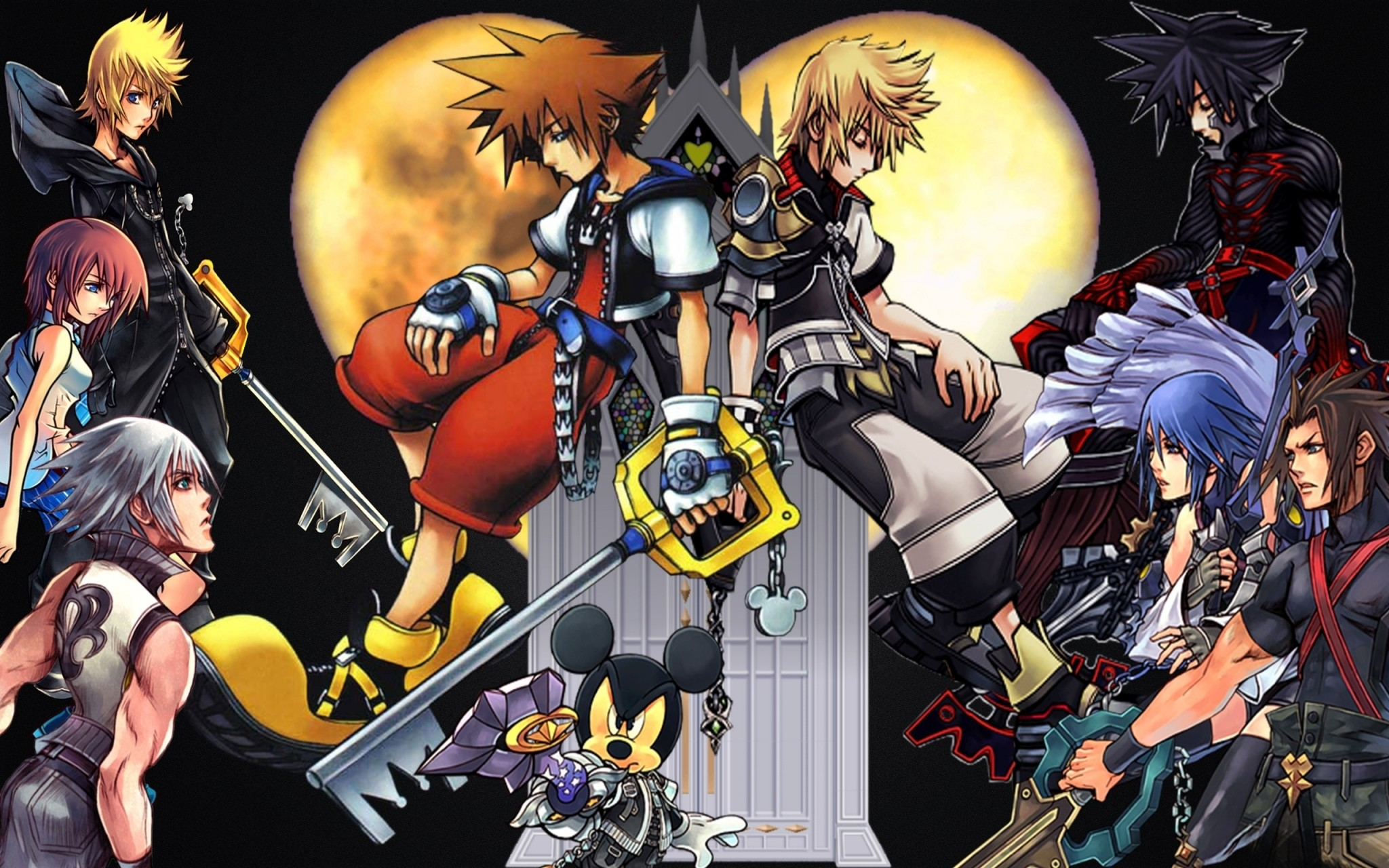 Res: 2048x1280, Kingdom Hearts Wallpaper Desktop Backgrounds.