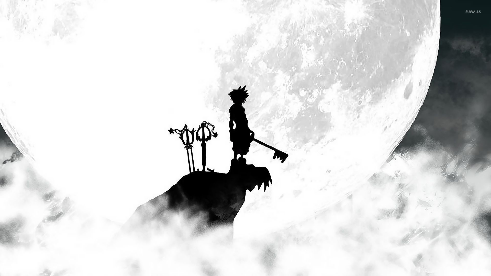Res: 1920x1080, Kingdom Hearts 3 warrior on the cliff wallpaper