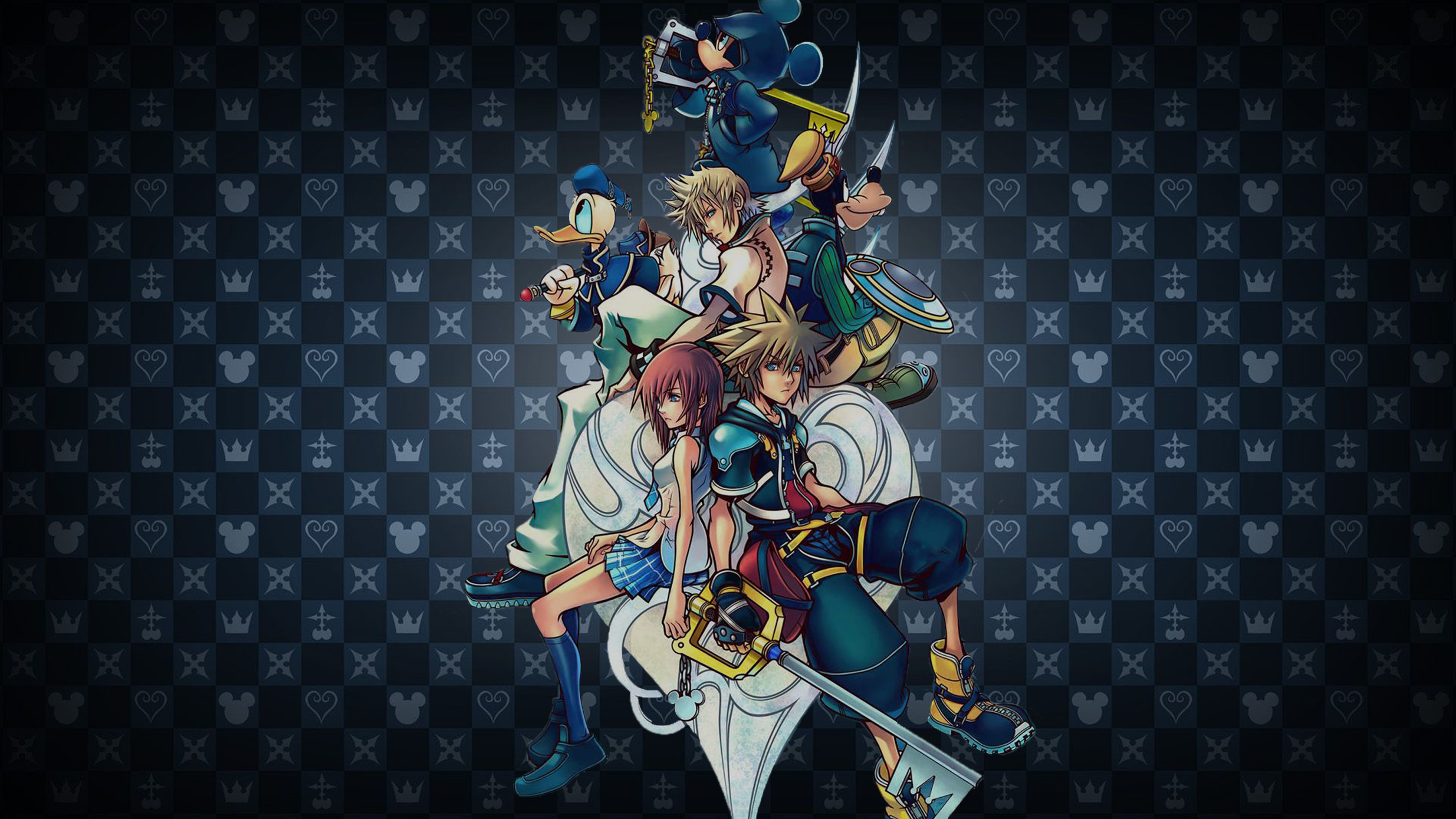 Res: 2469x1389, Kingdom Hearts Wallpaper 39 Kingdom Hearts Gallery of