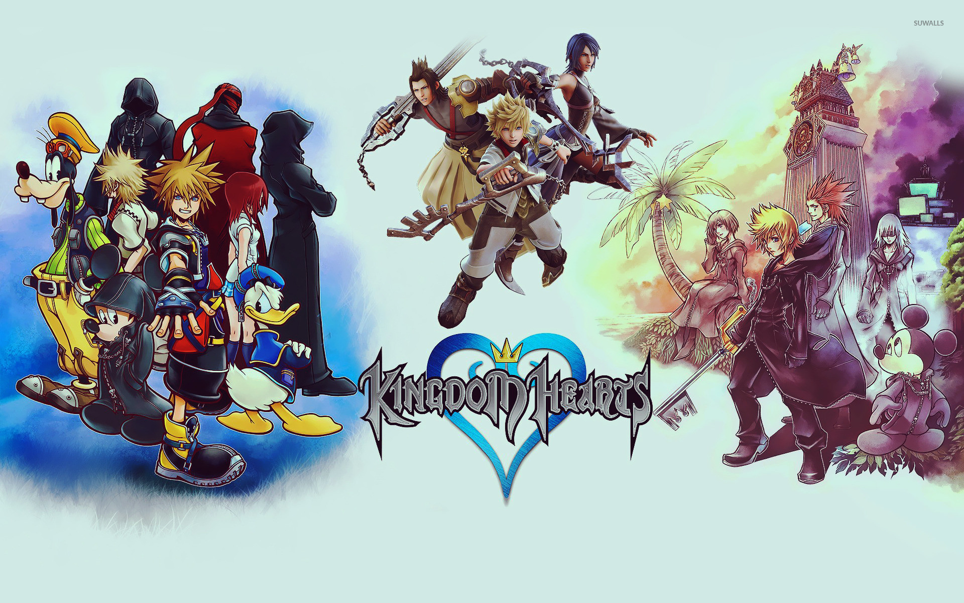 Res: 1920x1200, Kingdom Hearts [3] wallpaper