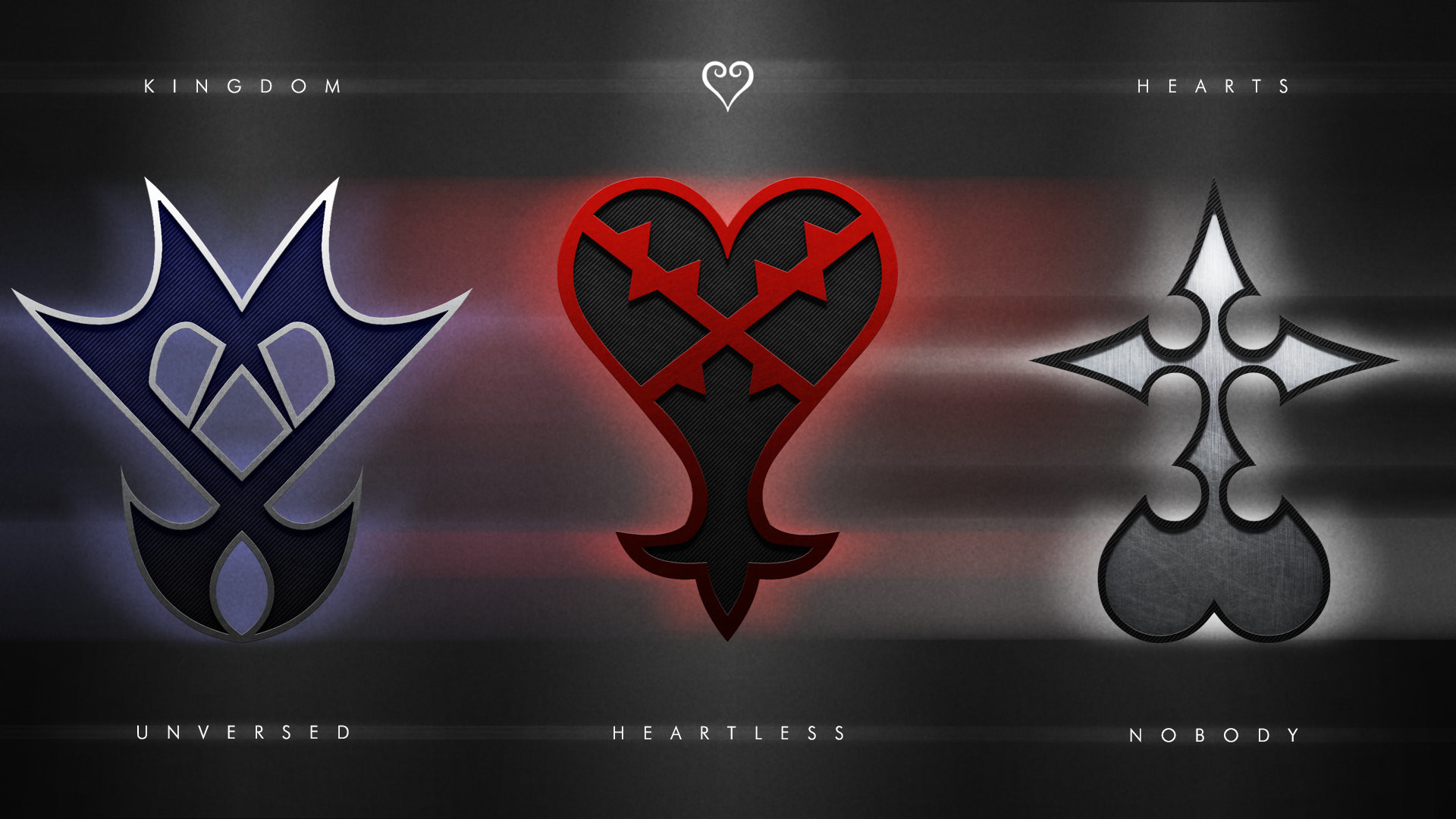 Res: 1920x1080, Kingdom Hearts Emblems Wallpaper by Pencil X Paper