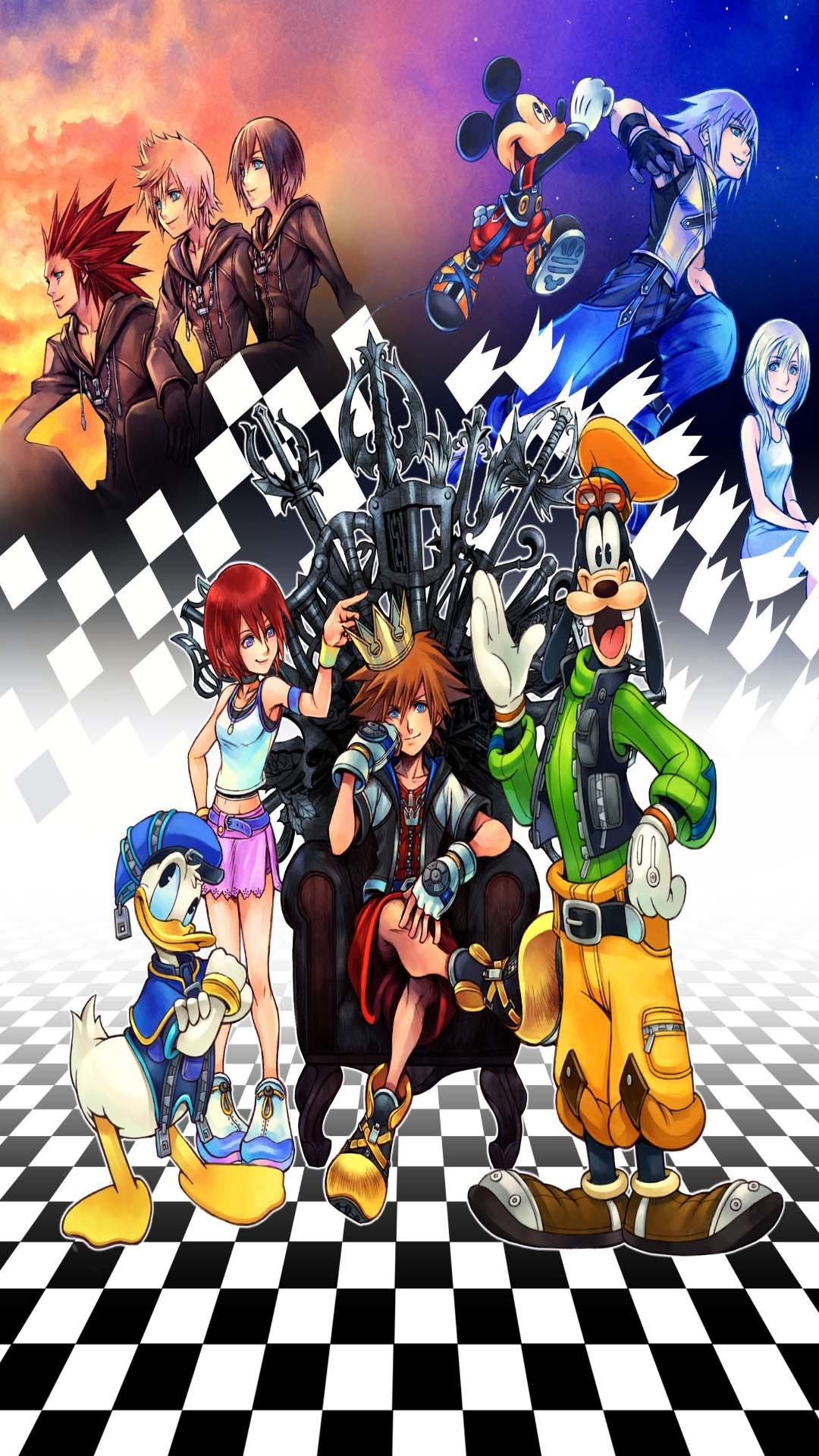Res: 1080x1920, Die 67 Besten Kingdom Hearts Wallpapers pertaining to kingdom hearts iphone  wallpaper 1024×768