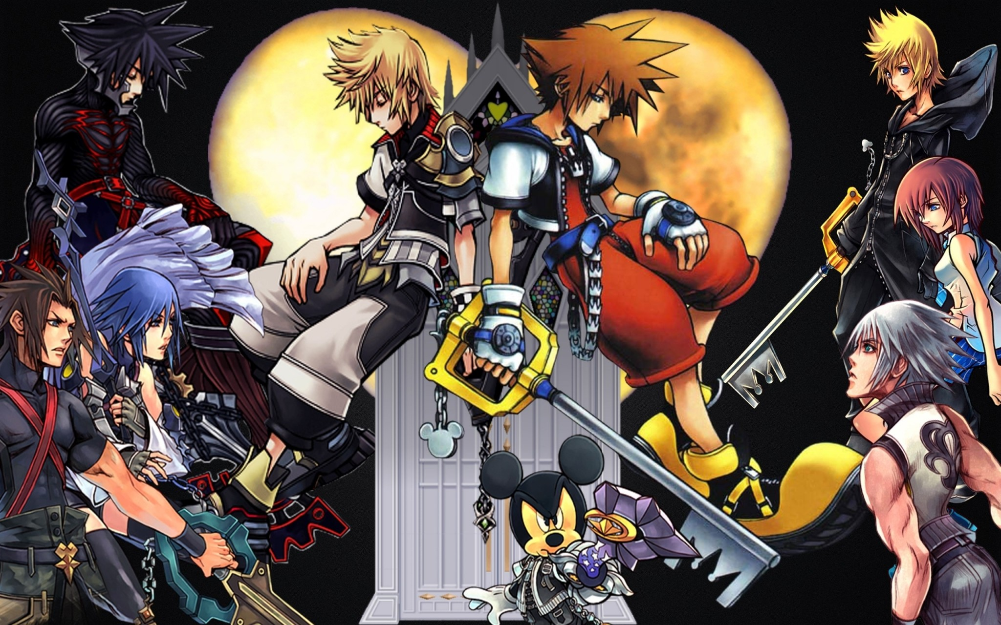 Res: 2048x1280, Kingdom Hearts Picture For Desktop Wallpaper Kingdom Hearts Wallpaper  Desktop Backgrounds