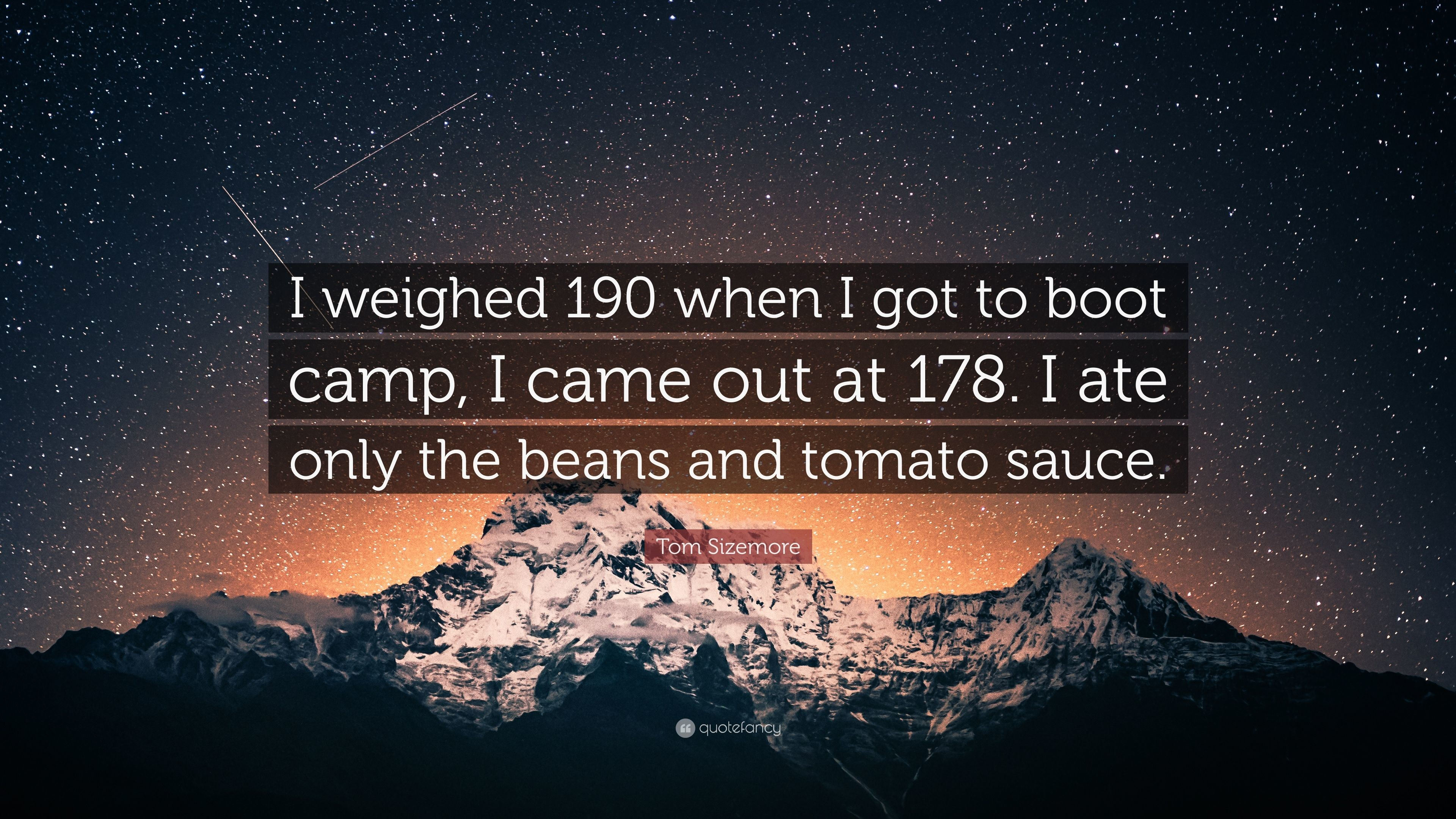 "Res: 3840x2160, Tom Sizemore Quote: ""I weighed 190 when I got to boot camp, I"