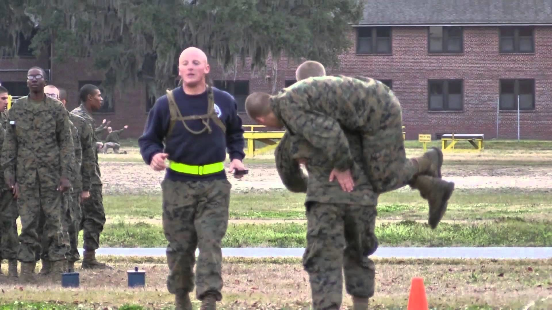 Res: 1920x1080, Marine Corps Boot Camp - Combat Fitness Test