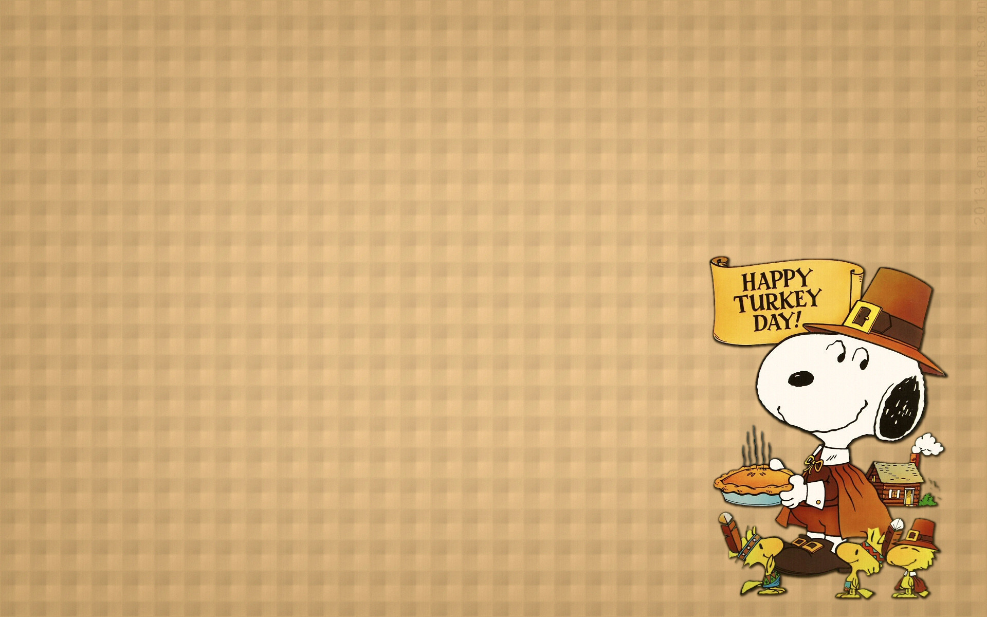 Res: 1920x1200, Res: 1920x1080, Snoopy Thanksgiving Wallpapers ...