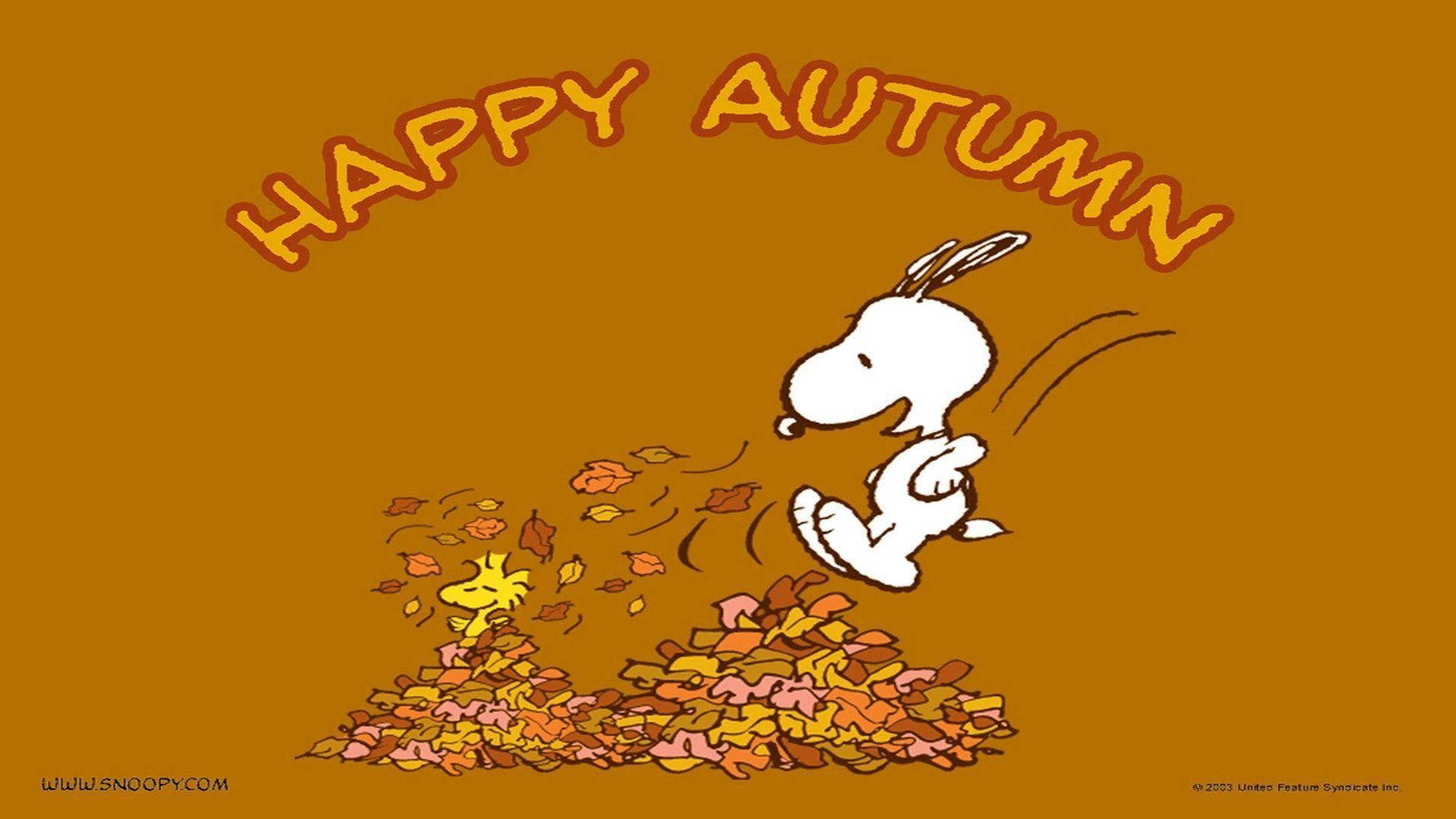Res: 1920x1080, Snoopy Thanksgiving Wallpaper