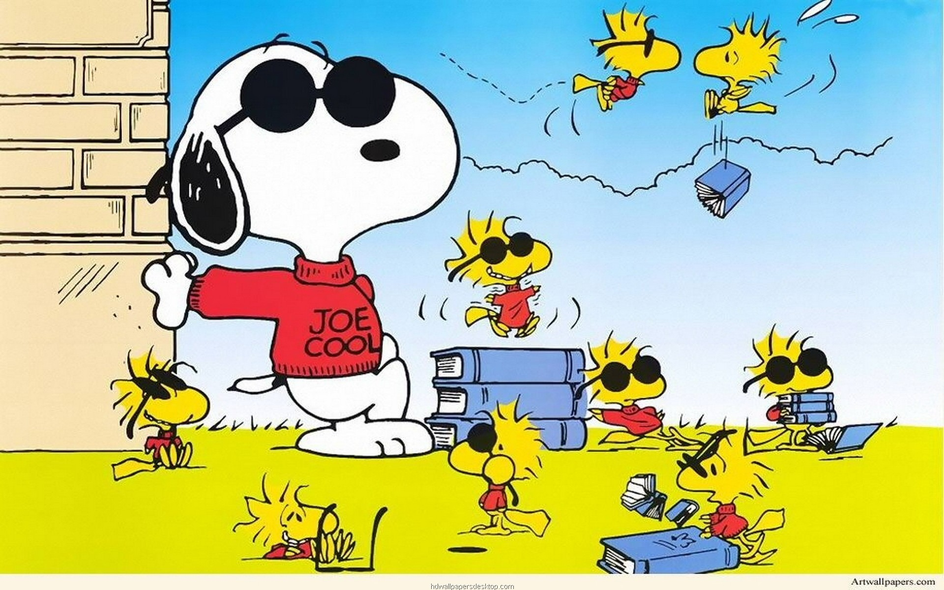 Res: 1920x1200, ... Snoopy Easter Wallpaper | Easter Wallpaper ...