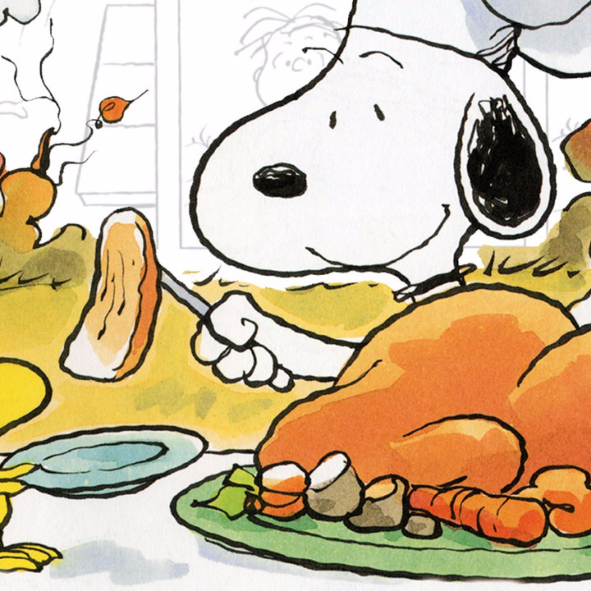 Res: 2048x2048, Related to Snoopy 2016 Thanksgiving 4K Wallpaper