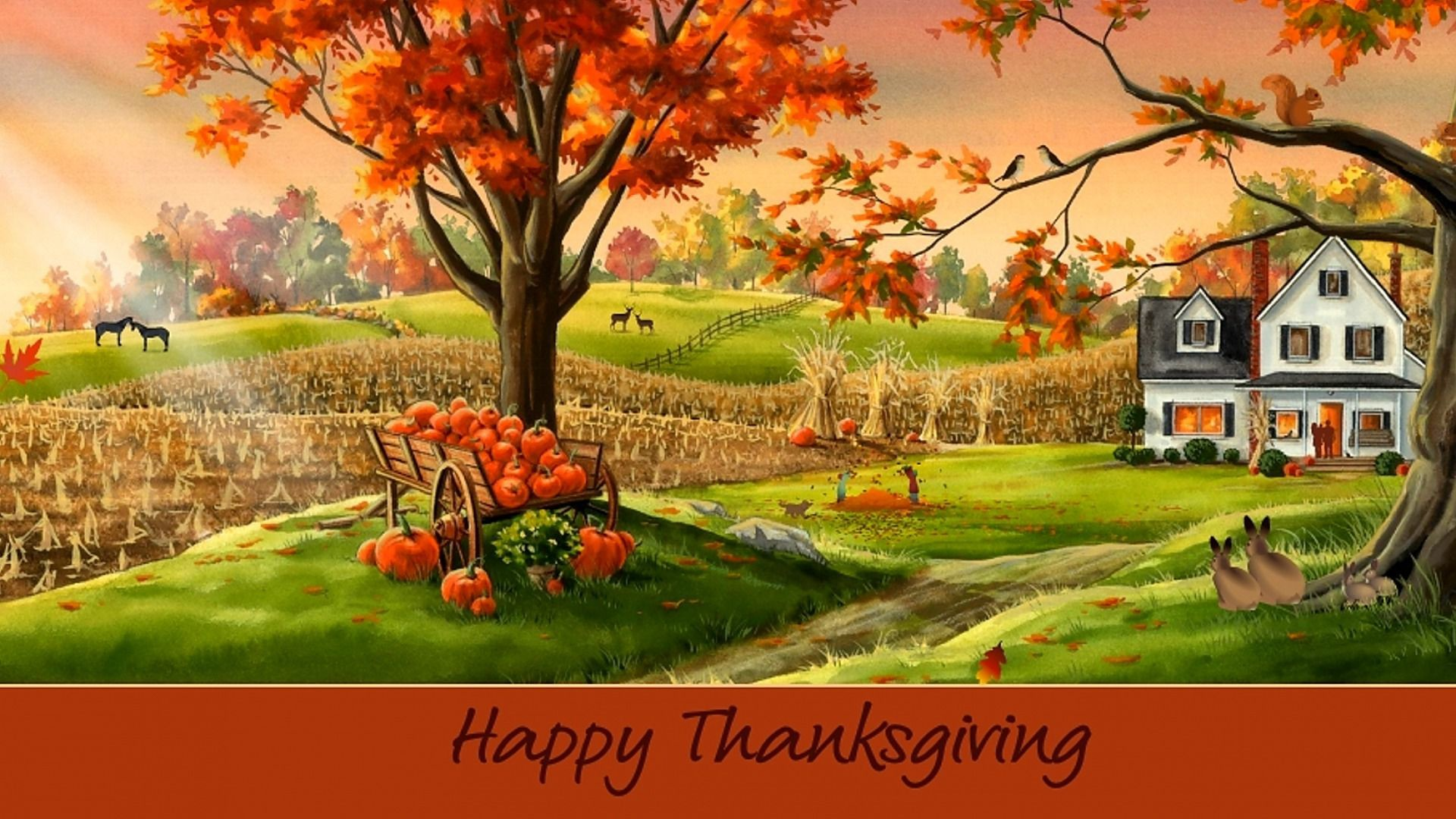 Res: 1920x1080, Desktop Nexus Home Thanksgiving Backgrounds.