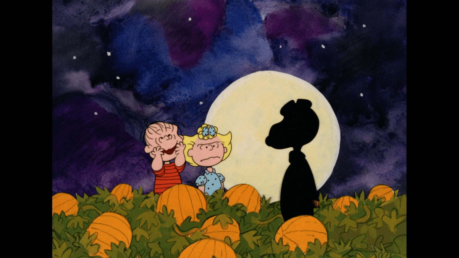 Res: 1920x1080, Full Size of Peanuts Gang Halloween Wallpaper Painting ...