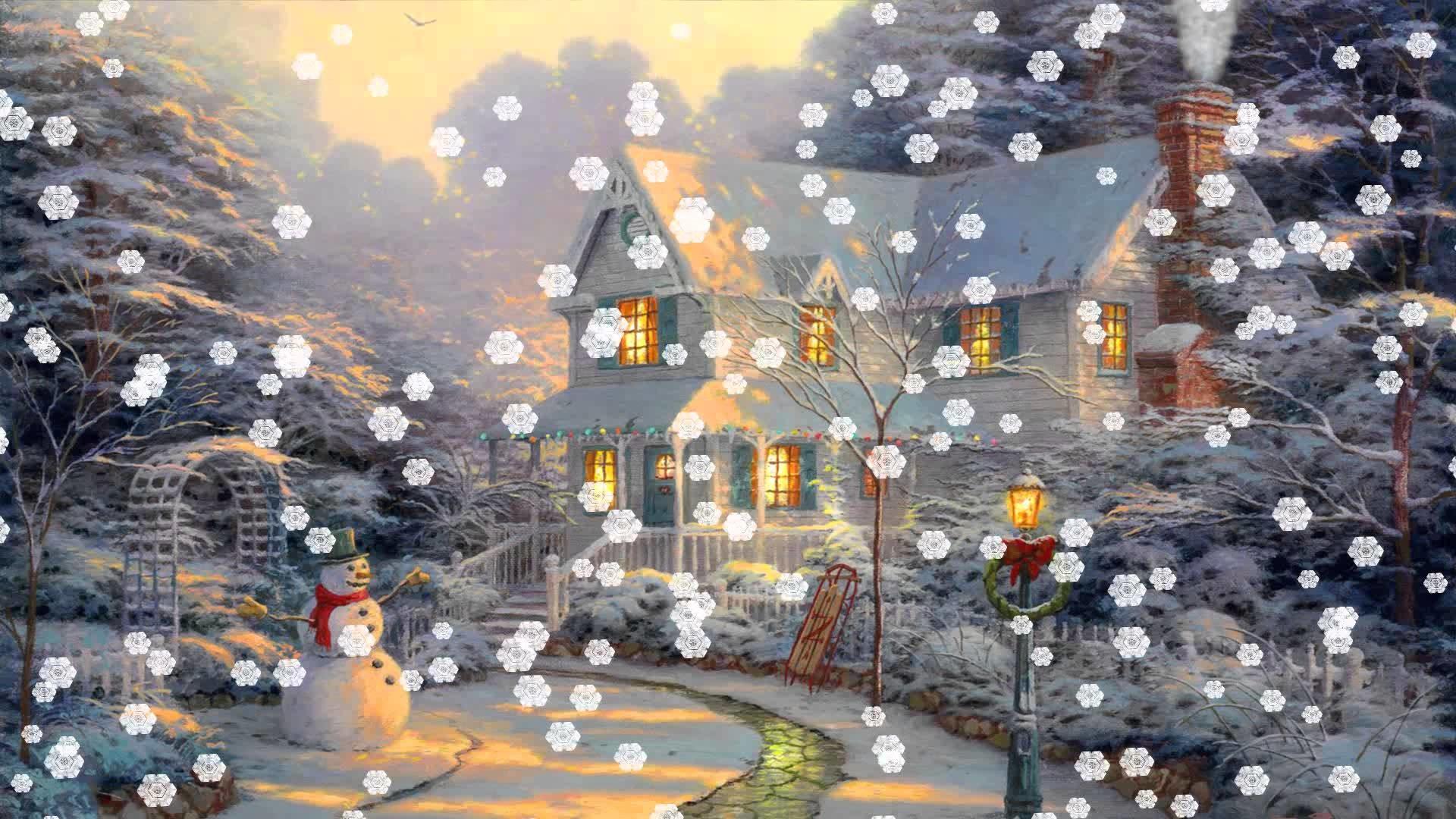 Res: 1920x1080, Christmas Eve Animated Wallpaper http://www.desktopanimated.com