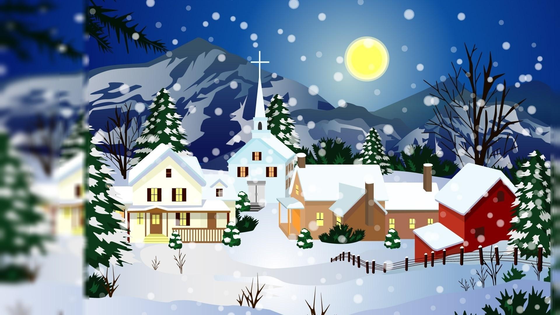 Res: 1920x1080, New Desktop Wallpapers Christmas Animated Download - Animated Christmas  Wallpapers