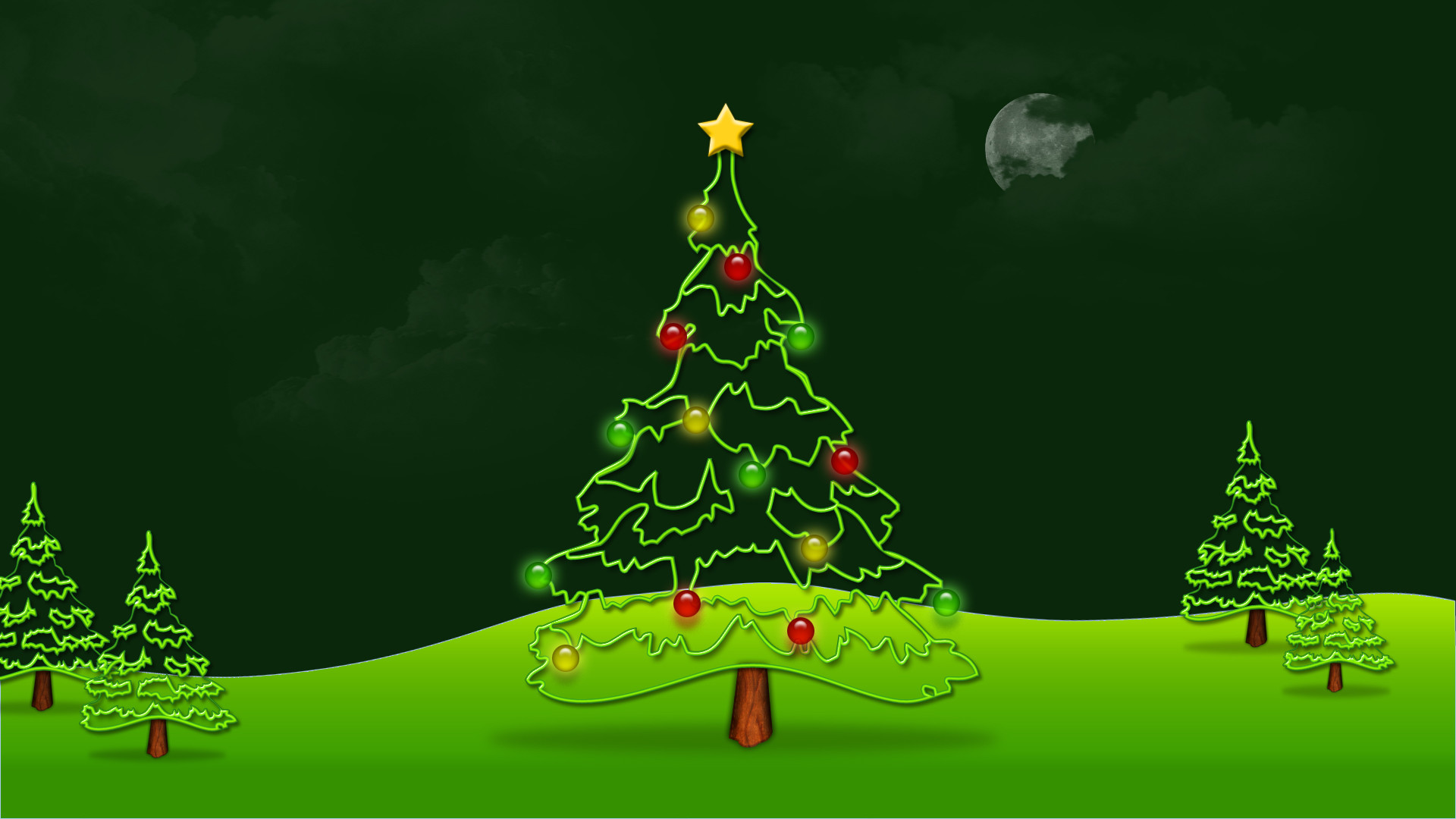 Res: 1920x1080, Animated Christmas Wallpapers