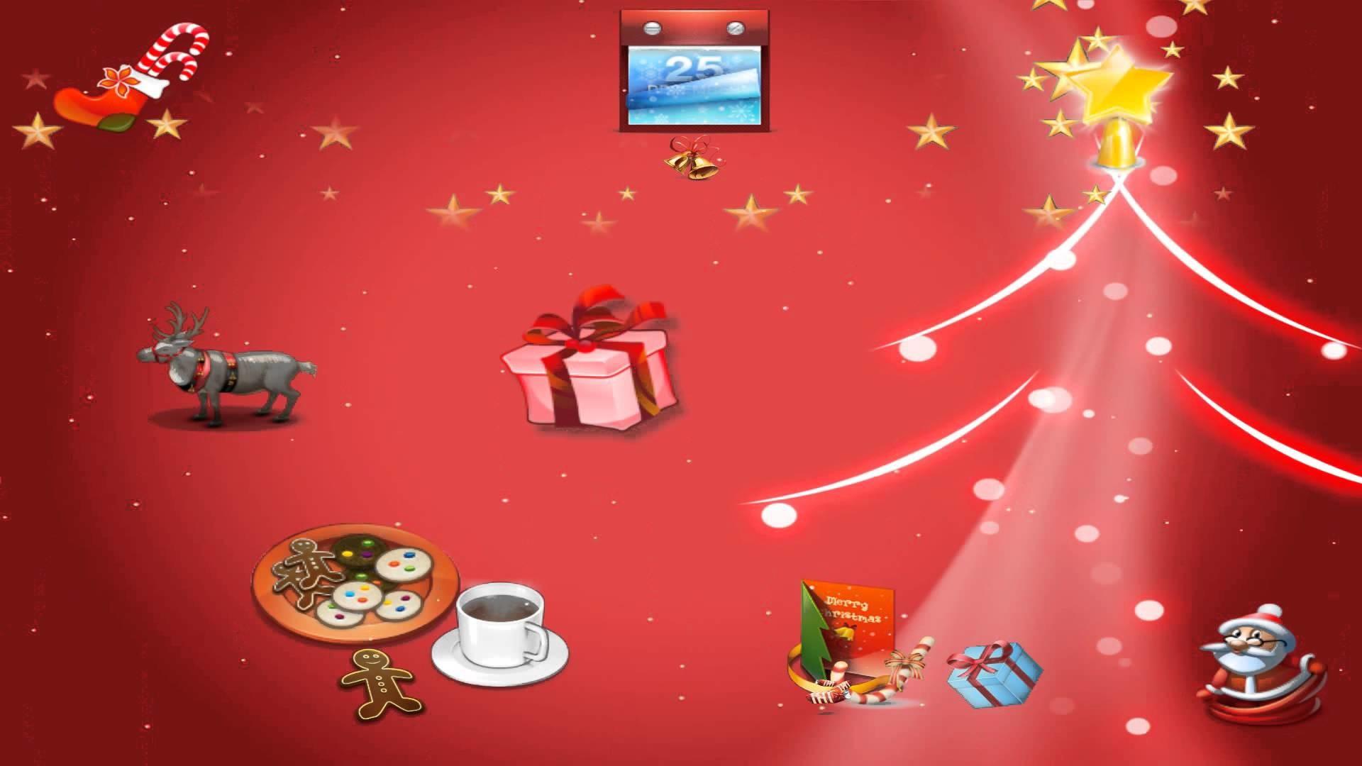 Res: 1920x1080, Merry Christmas Animated Wallpaper 2.0 http://www.desktopanimated.com -  YouTube
