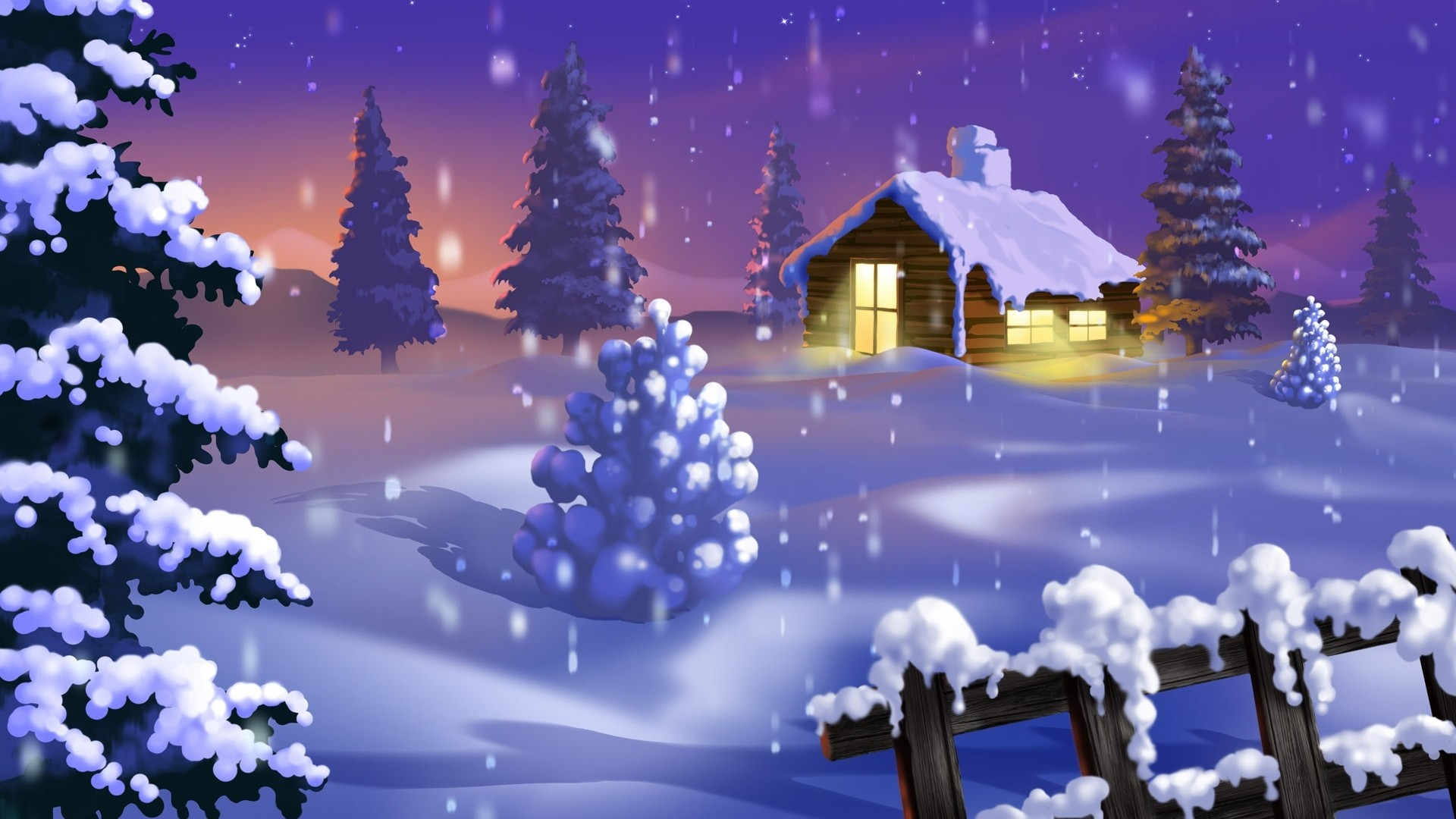 Res: 1920x1080, 24 Animated Christmas Wallpapers