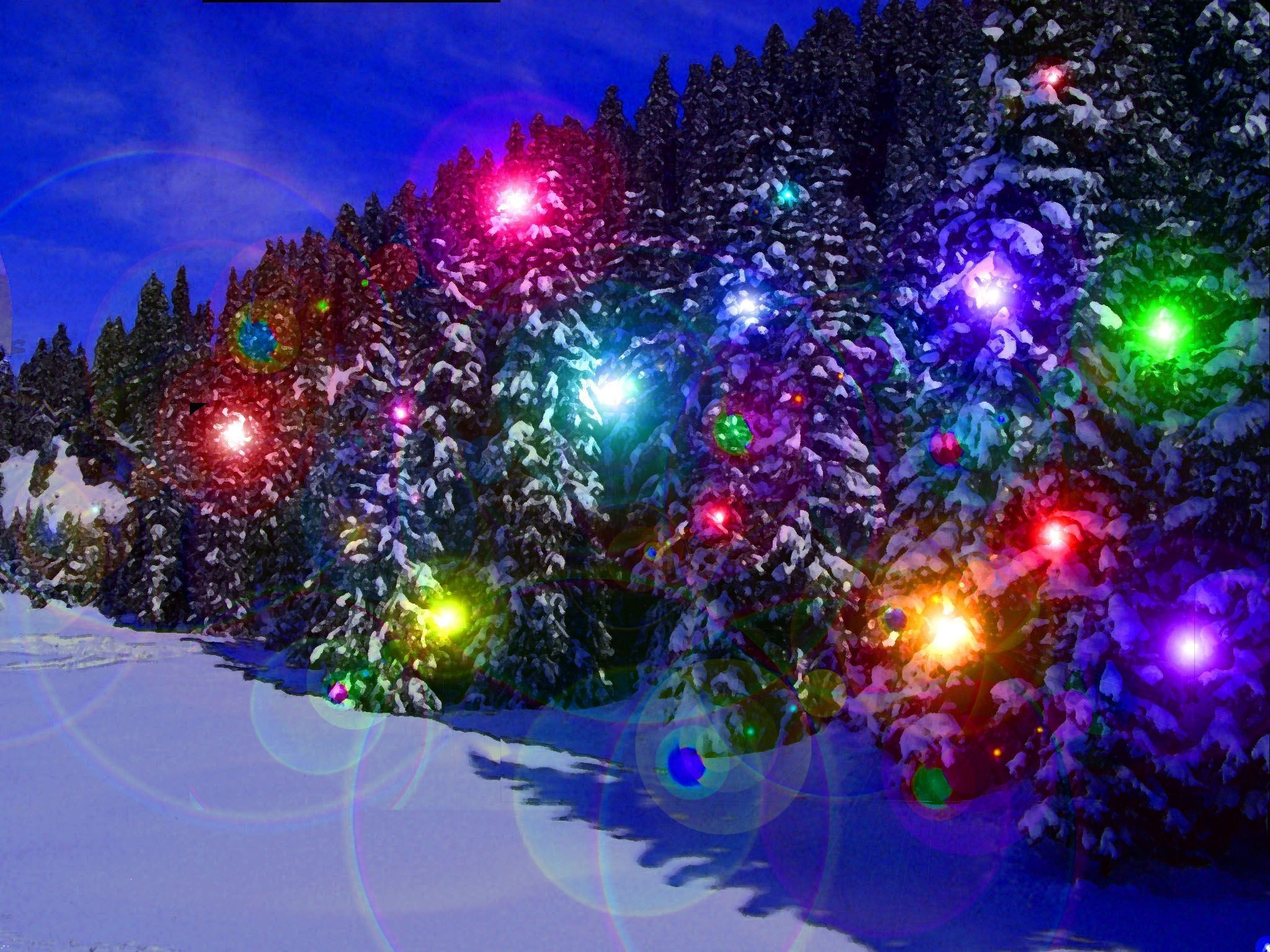 Res: 2048x1536, Winter Christmas Wallpaper. Pages ...