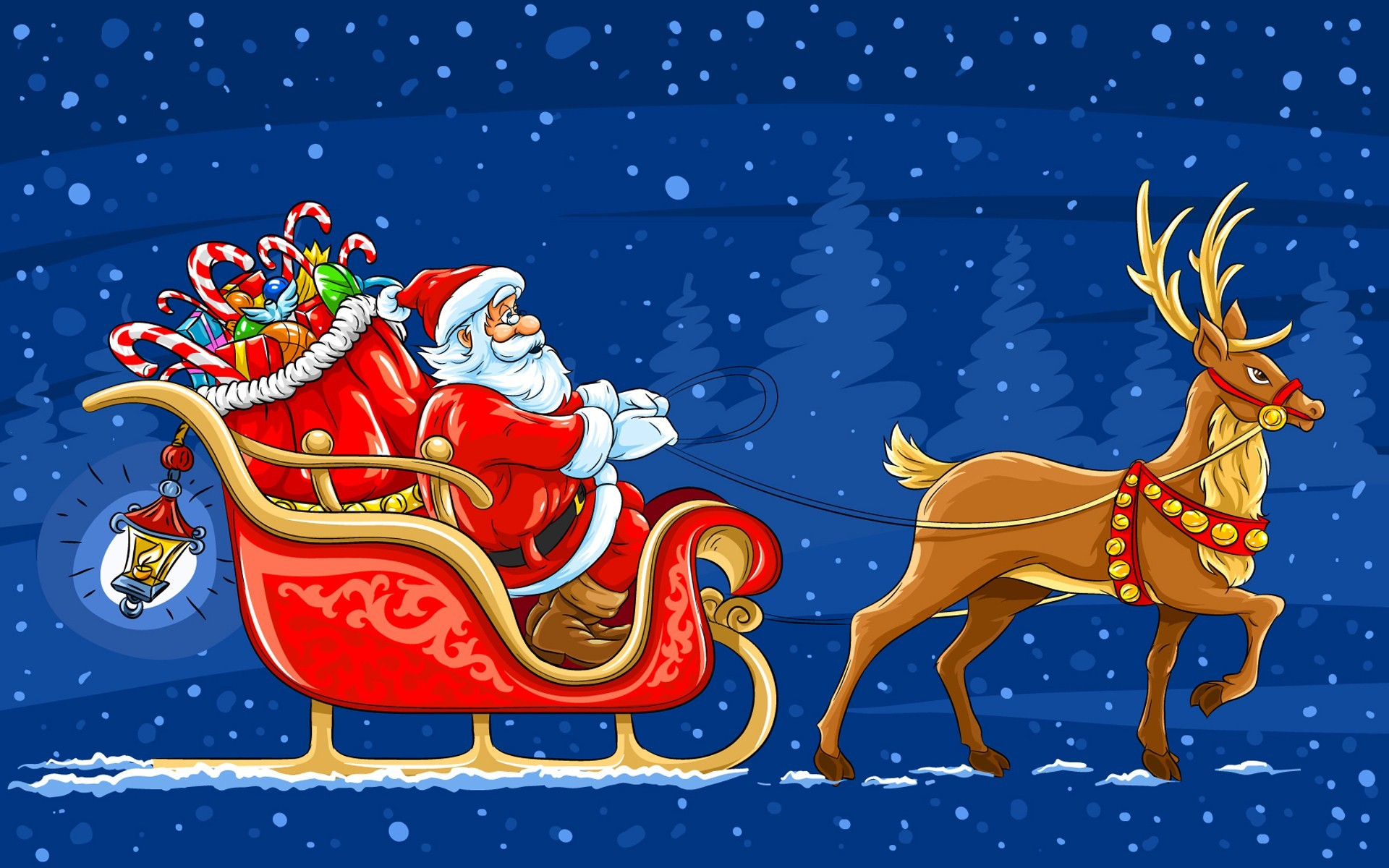 Res: 1920x1200, Free Animated Christmas Wallpaper for Desktop (3)