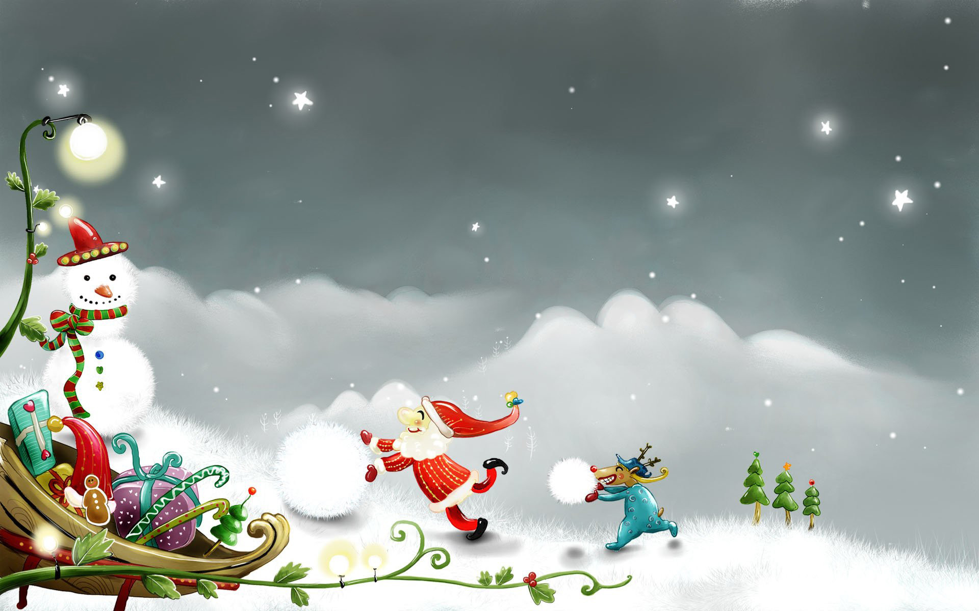 Res: 1920x1200, Merry Xmas Wallpapers High Definition