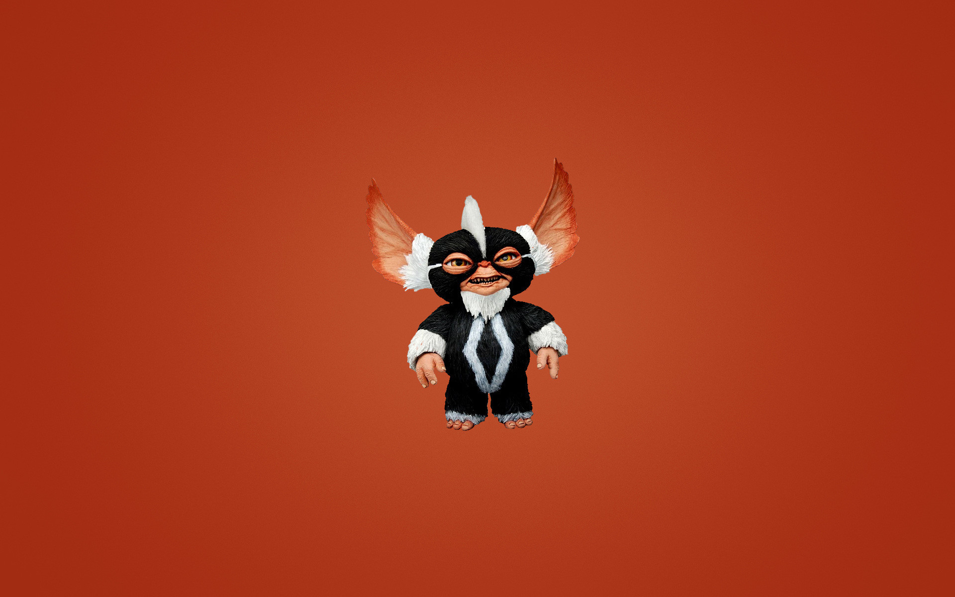 Res: 1920x1200, Download wallpaper gremlin, smile, monster, striped, gremlin, mohawk with  resolution 1366 x 768 and # 27503
