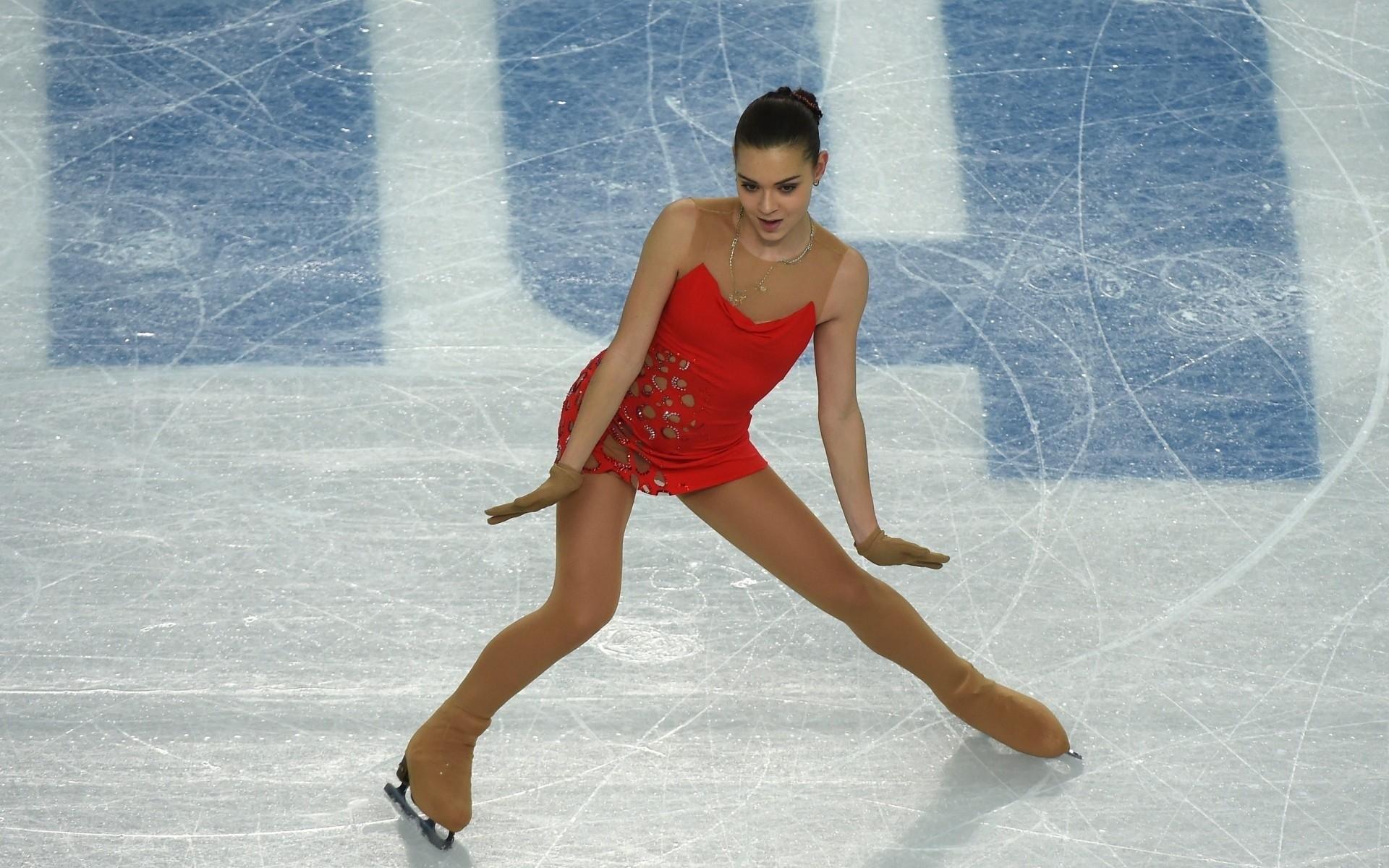 Res: 1920x1200, Adelina Sotnikova, figure skating, Sochi 2014, olympics