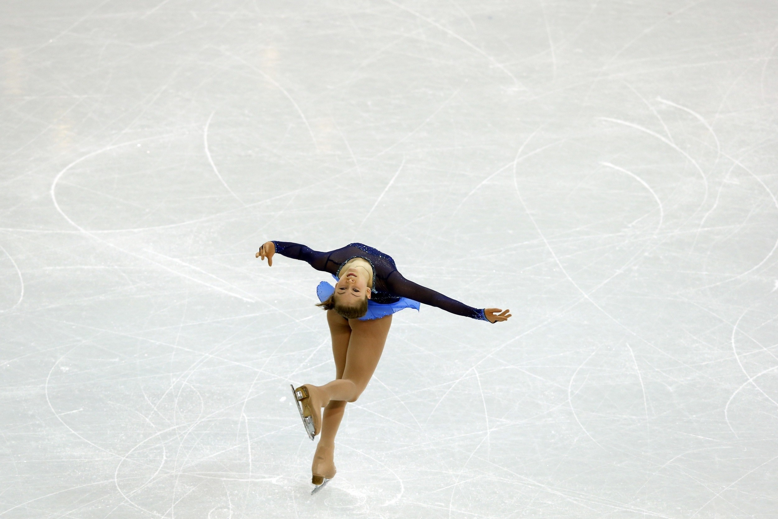 Res: 2500x1668, Download wallpaper figure skating, ice, skater, julia lipnitsky with  resolution 720 x 1280 and # 12111
