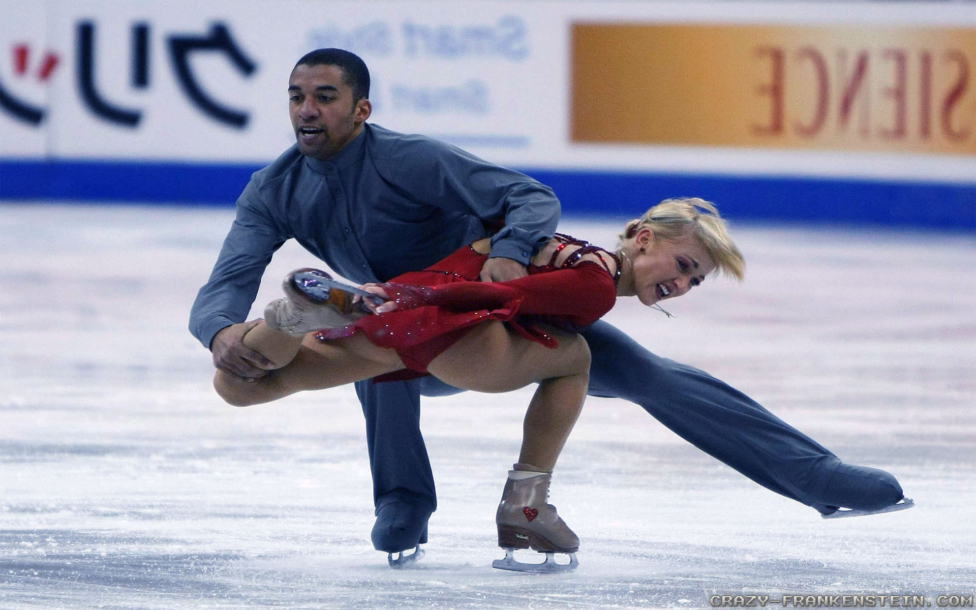 Res: 1920x1200, Figure Skater, Skating, Ice Dancing Mixed, Recreation, Ice Rink HD Wallpaper,  Sport Picture, Background and Image