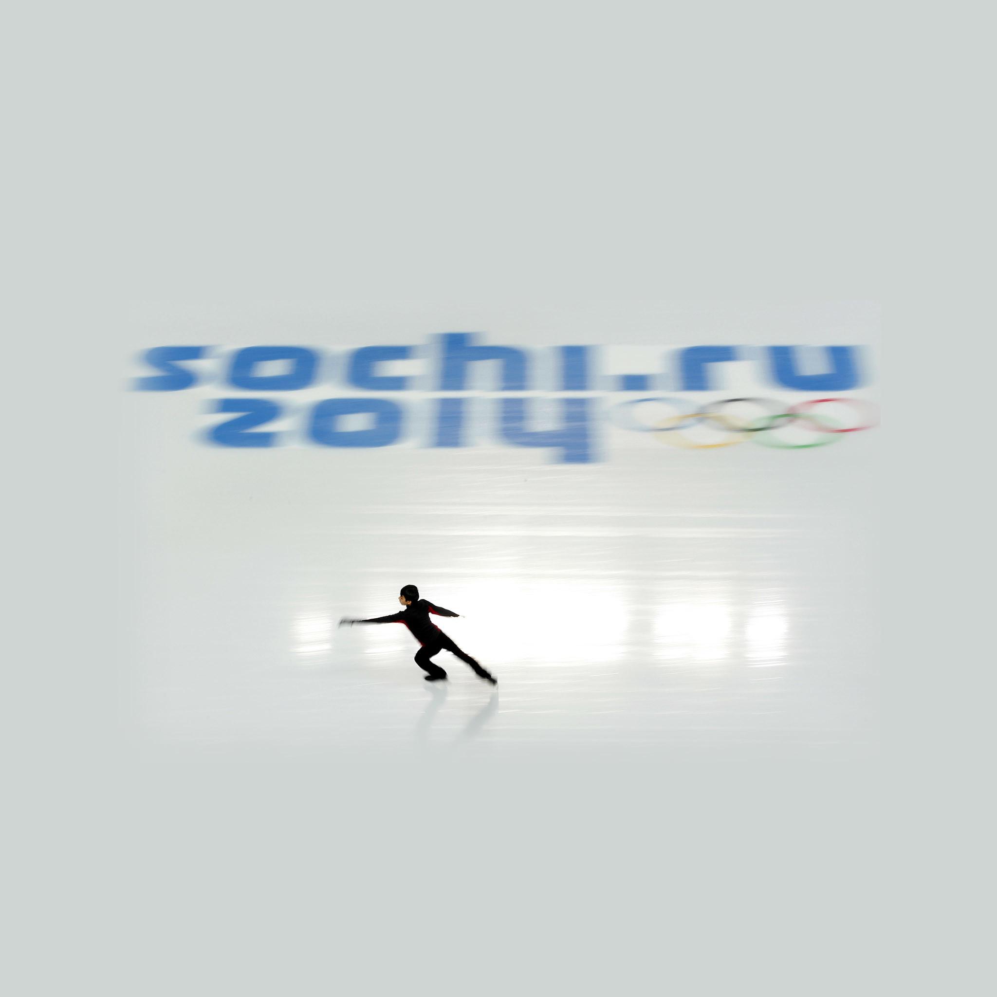 Res: 2048x2048, Sochi Olympics Russian Figure Skating iPad Air Wallpaper