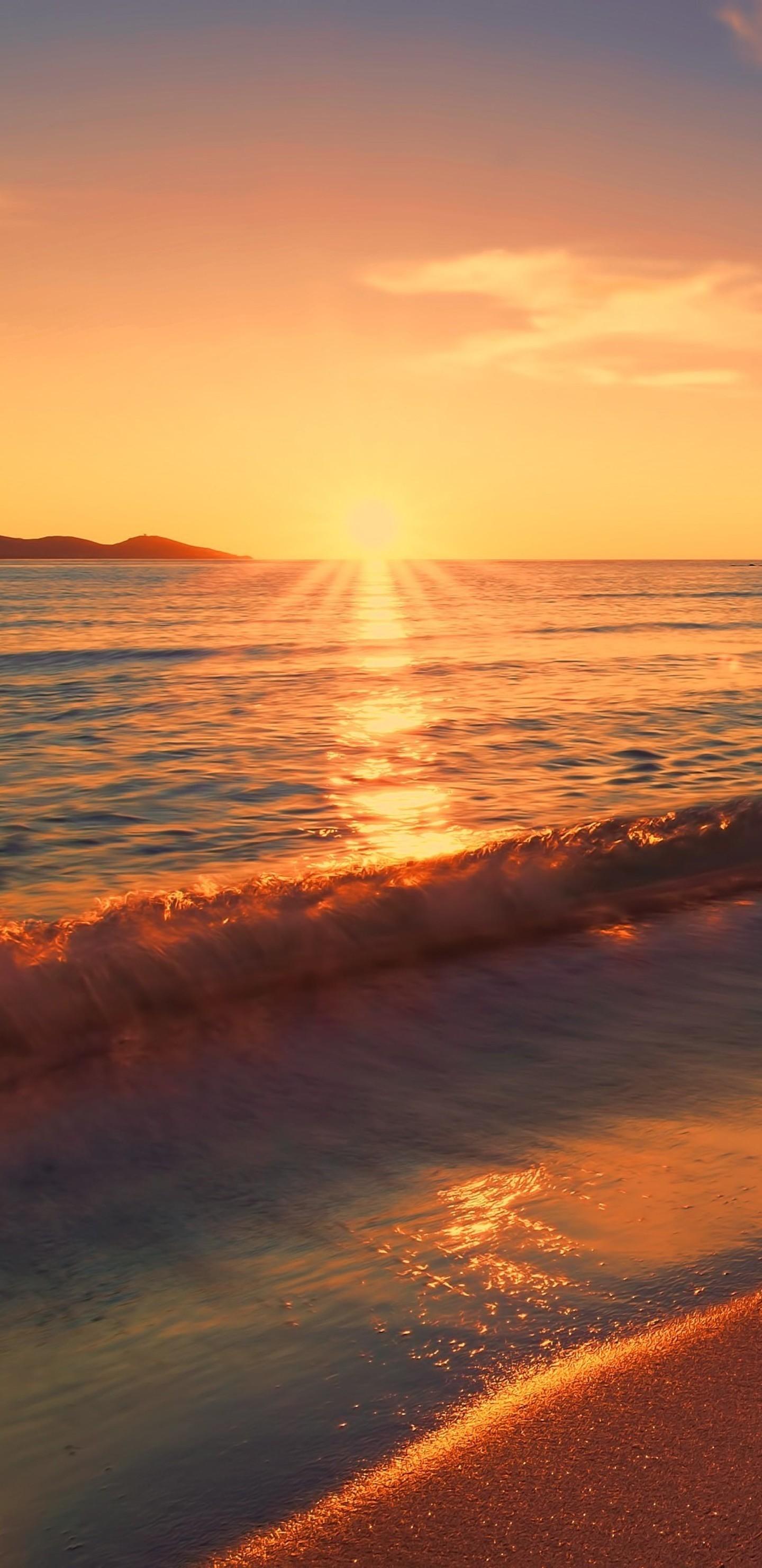 Res: 1440x2960, 1920x1080 Sunset Hd Wallpapers Group 85. Beach Sunset Wallpaper