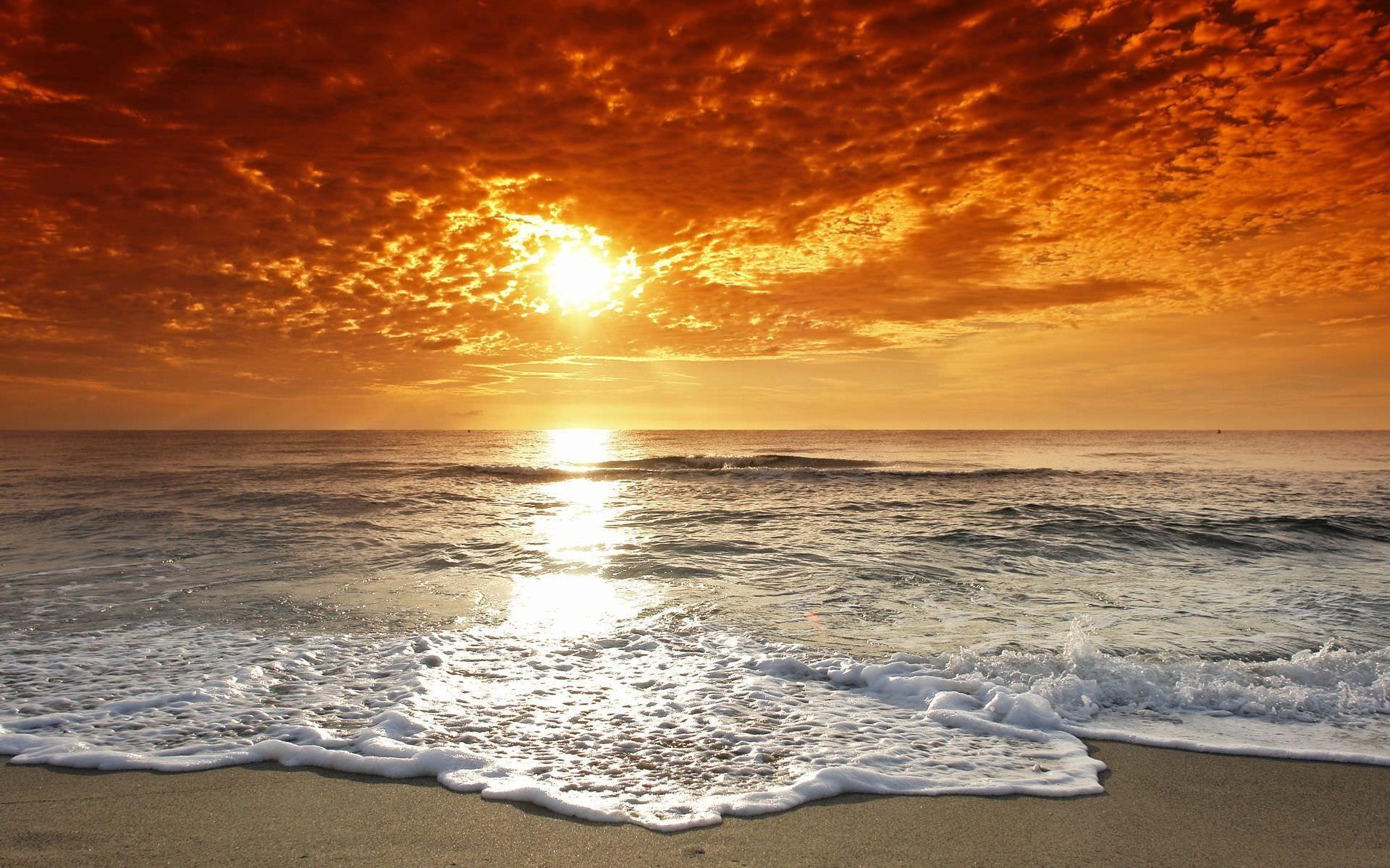 Res: 1920x1200, amazing beach sunset wallpaper[1920 × 1200] ...