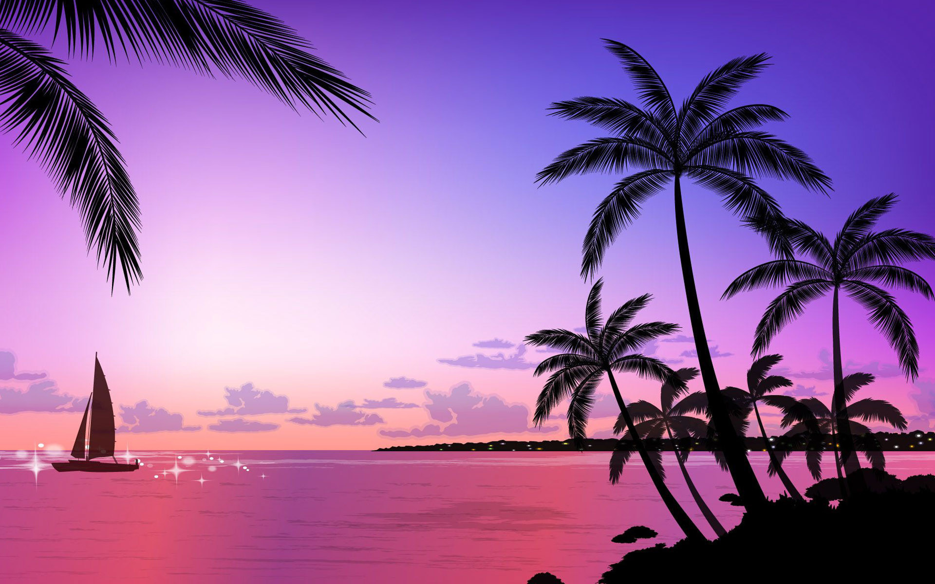 Res: 1920x1200,  Beautiful Beach Sunset | Beautiful Sunset Beach Wallpapers  1920×1200 Wallpaper