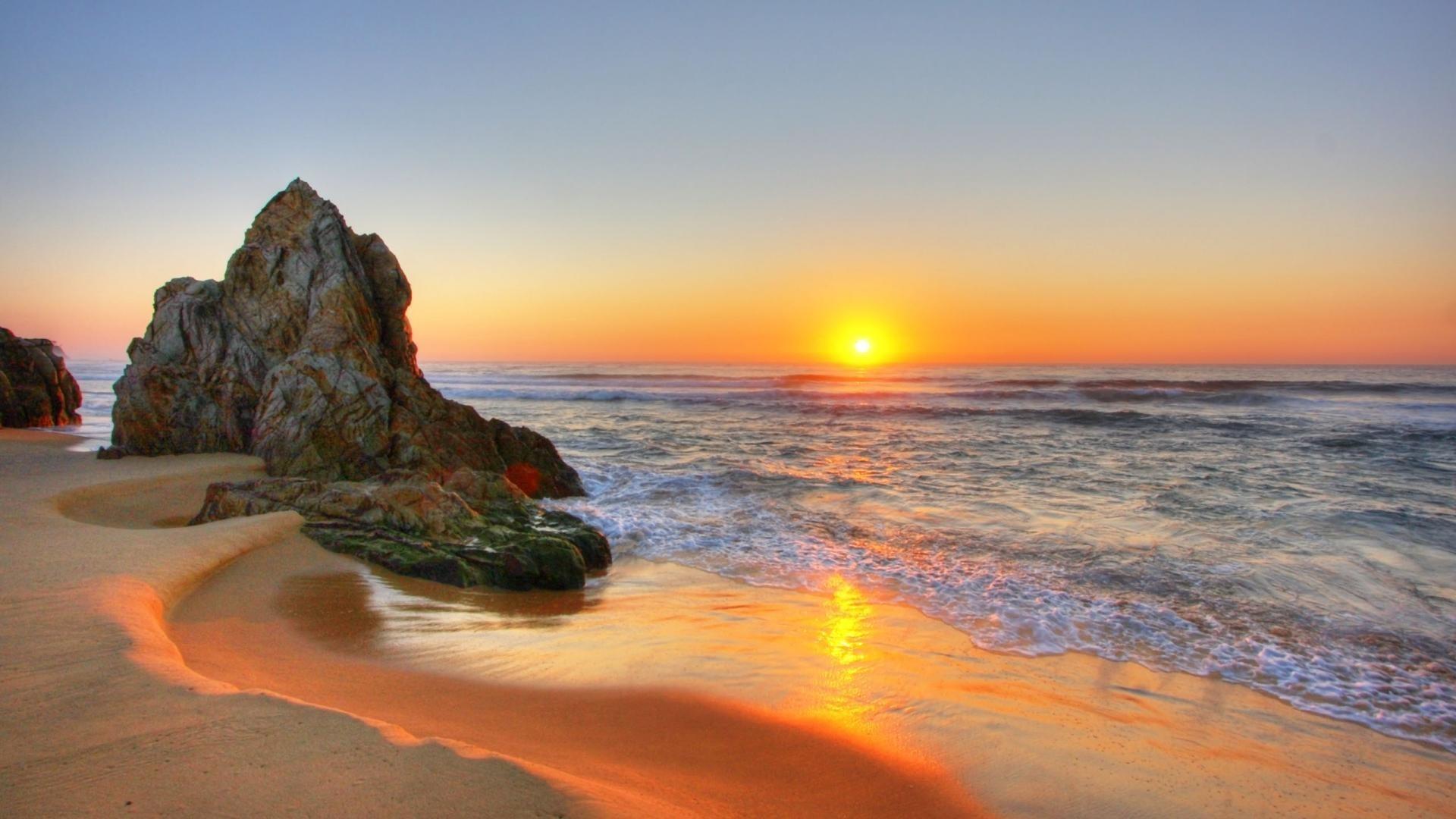 Res: 1920x1080, beach ...