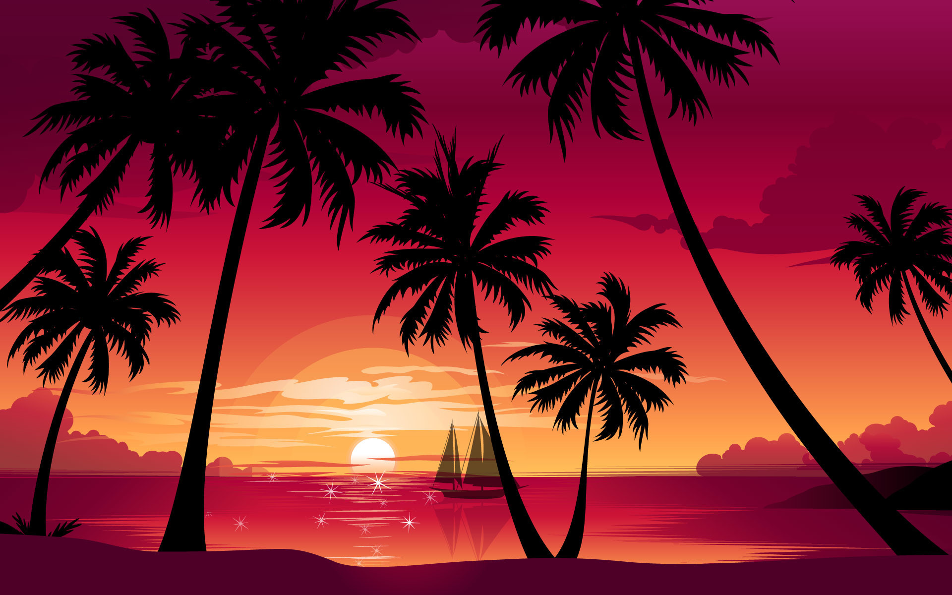 Res: 1920x1200, cool sunset wallpapers #876507