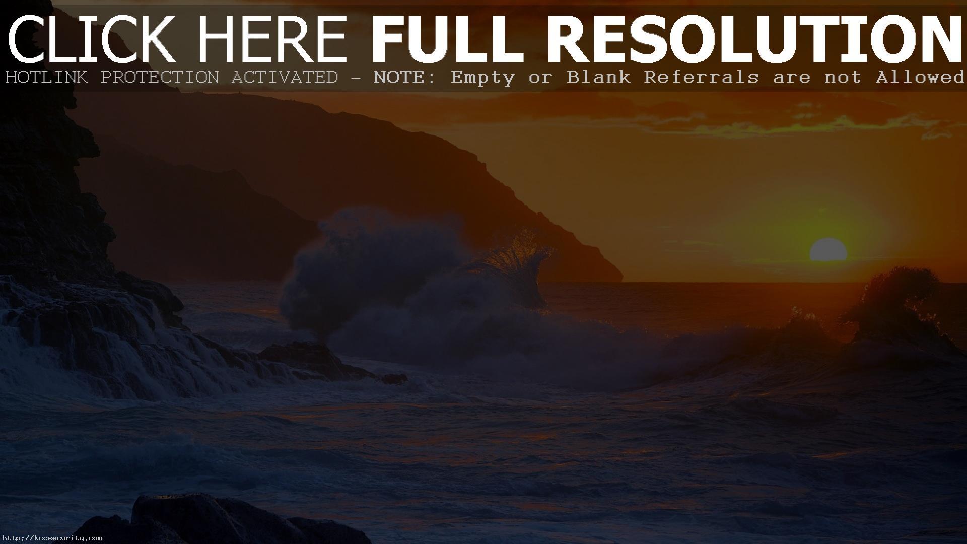 Res: 1920x1080, Crazy Beach Sunset Wallpaper 28807