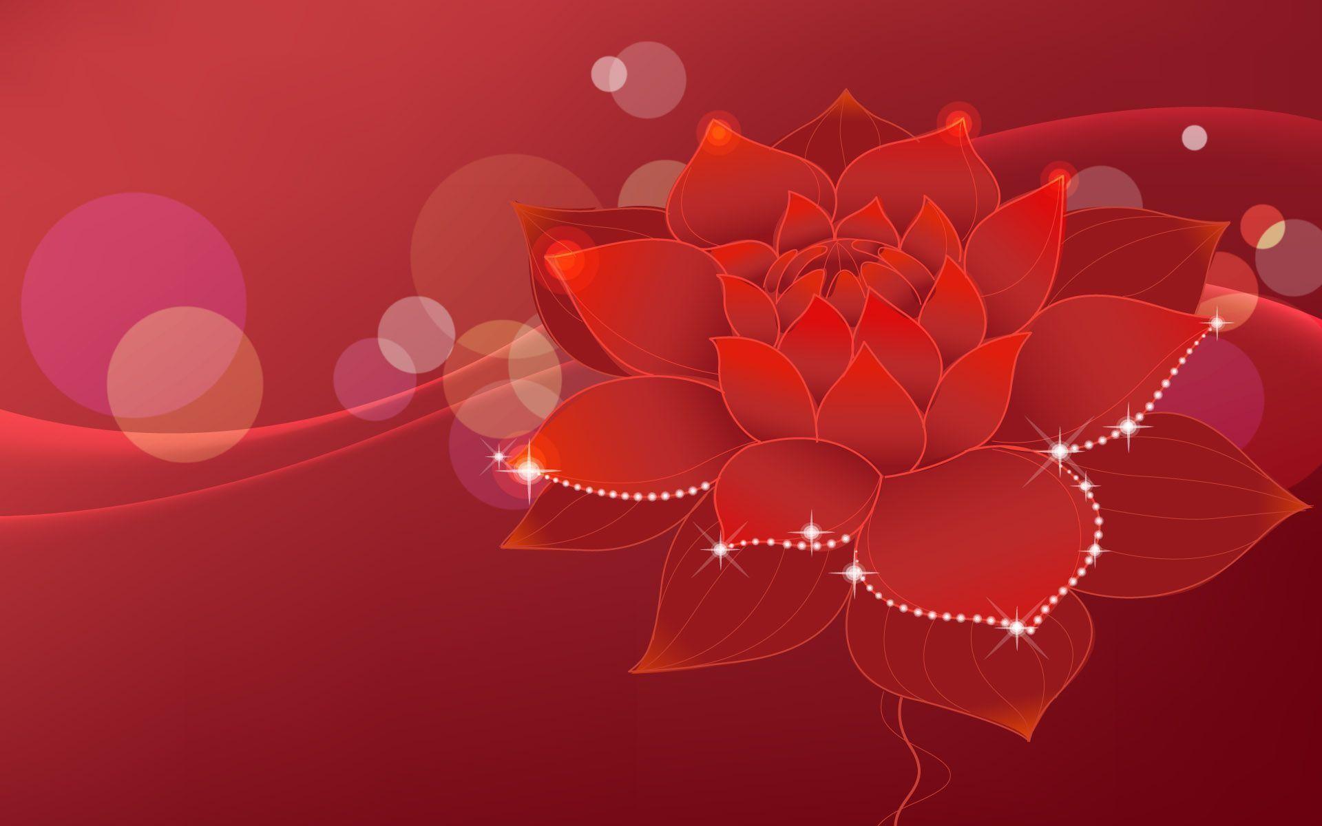 Res: 1920x1200, Red Flower Wallpaper Next Wallpaper | Green HD Wallpaper