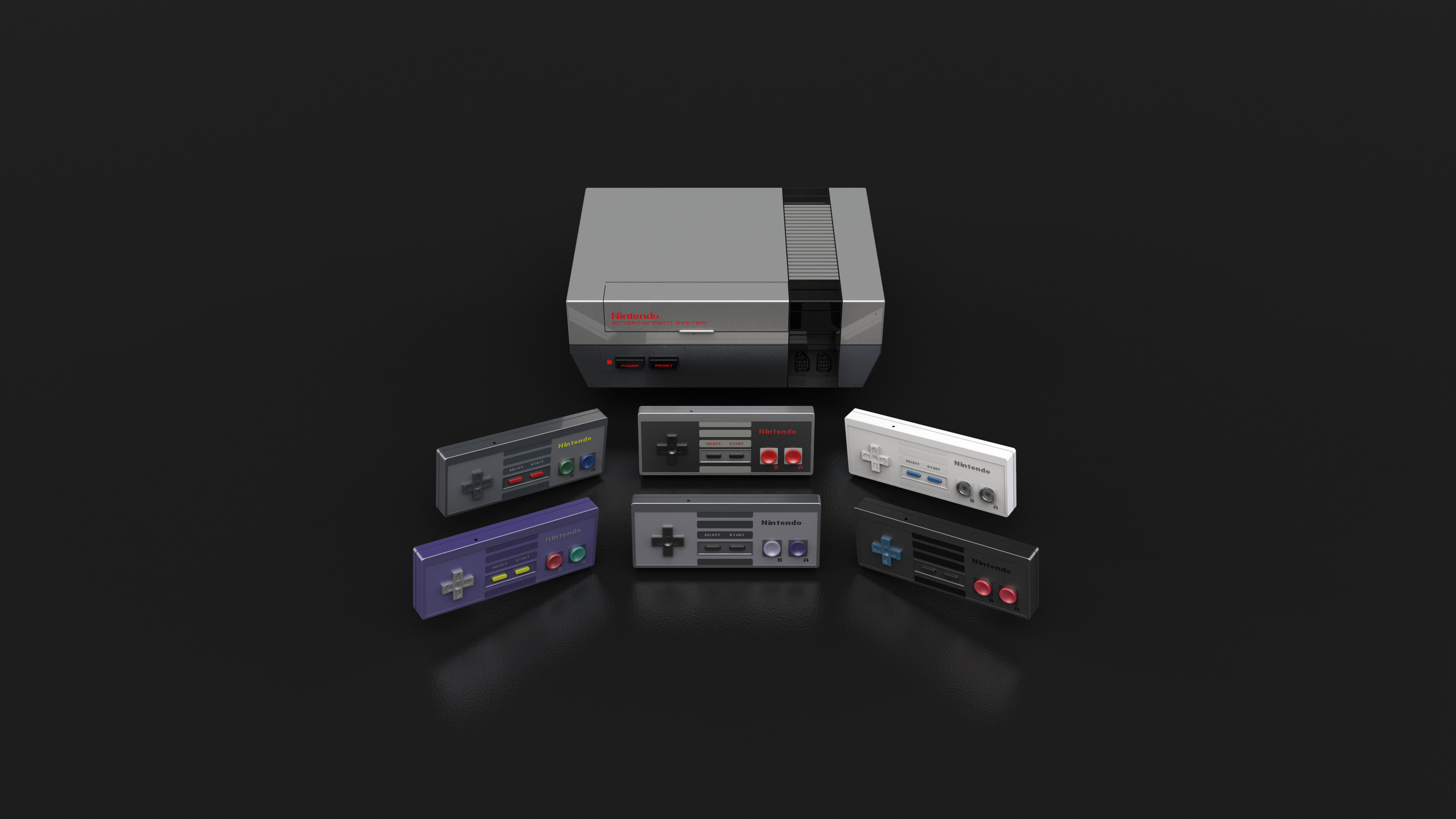 Res: 3840x2160, Nintendo Entertainment System 4k Ultra HD Wallpaper | Hintergrund |   | ID:884405 - Wallpaper Abyss