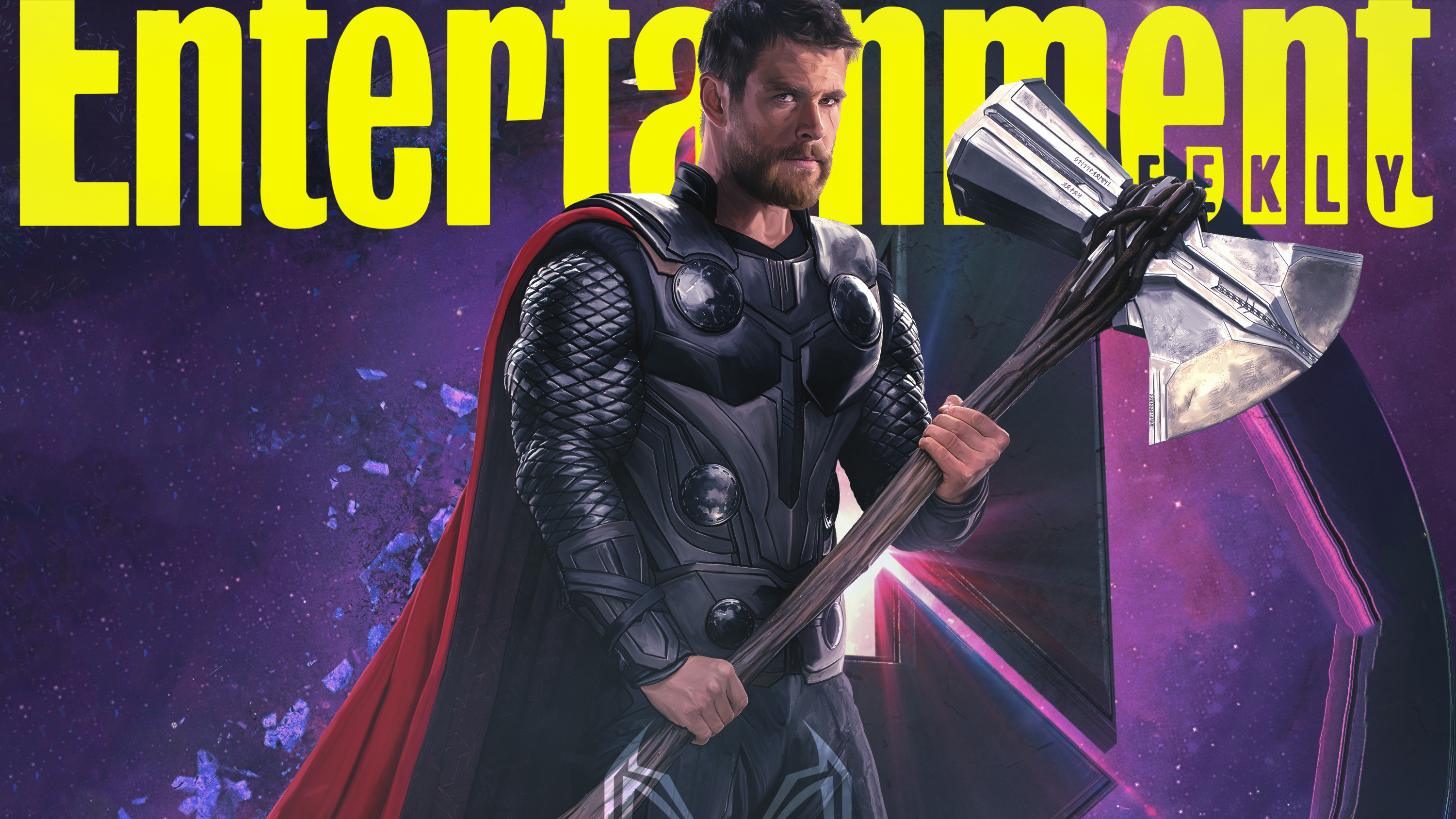 Res: 3002x1688, Thor In Avengers Endgame 2019 Entertainment Weekly