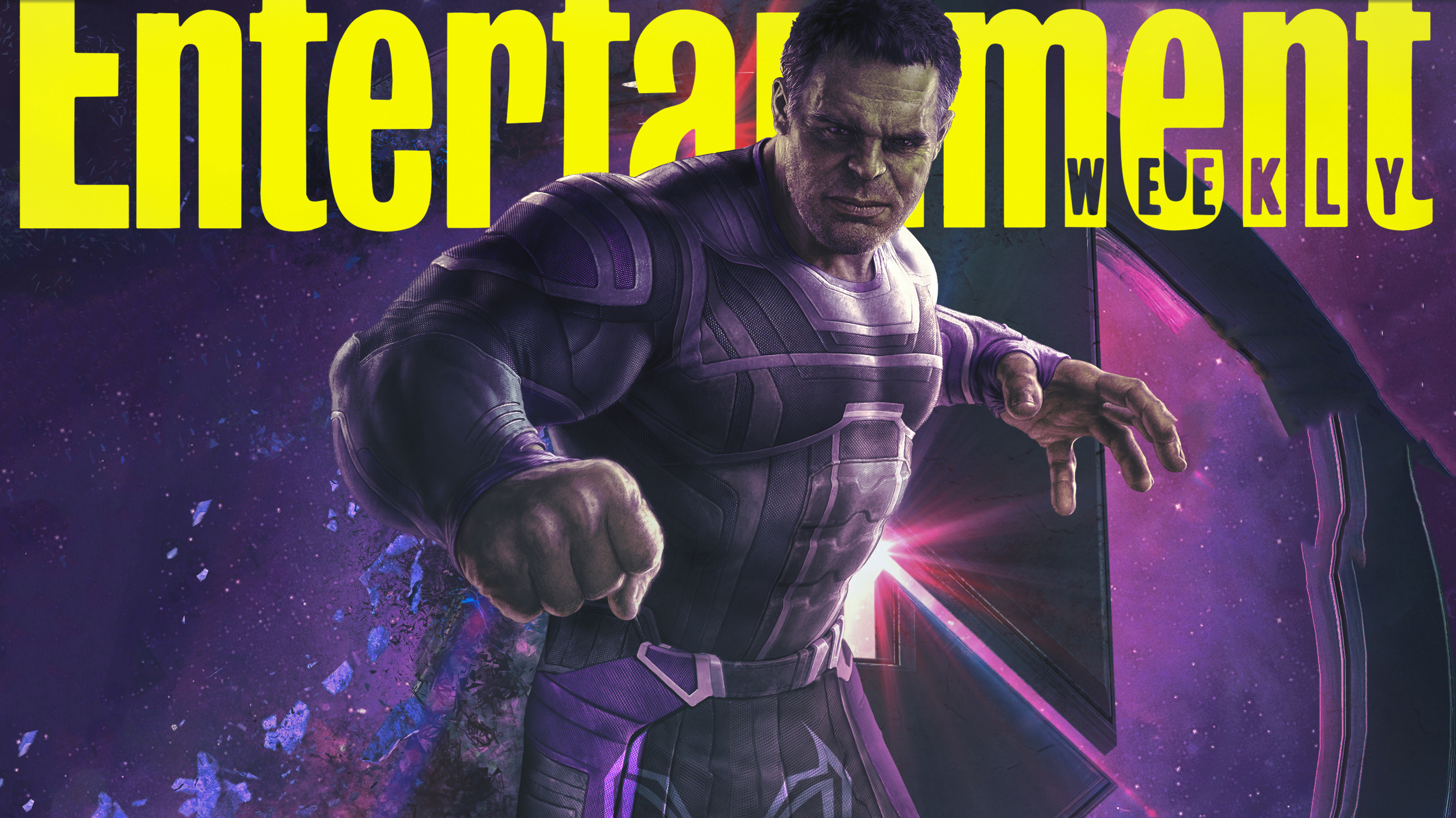 Res: 3002x1688, Hulk In Avengers Endgame 2019 Entertainment Weekly