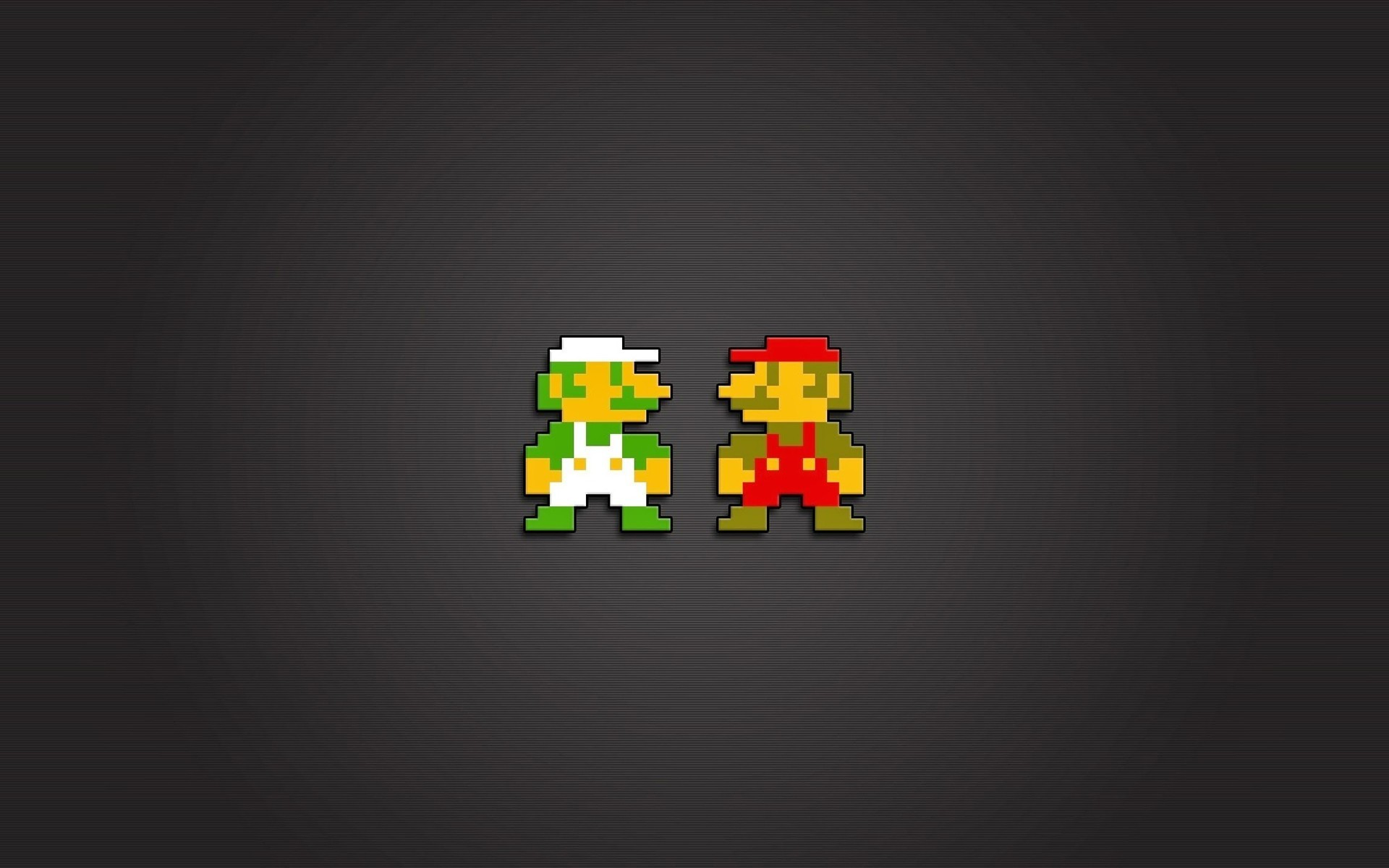 Res: 1920x1200, Mario Bros., Luigi, Nintendo Entertainment System, Video Games, 8 bit,  Pixels Wallpapers HD / Desktop and Mobile Backgrounds