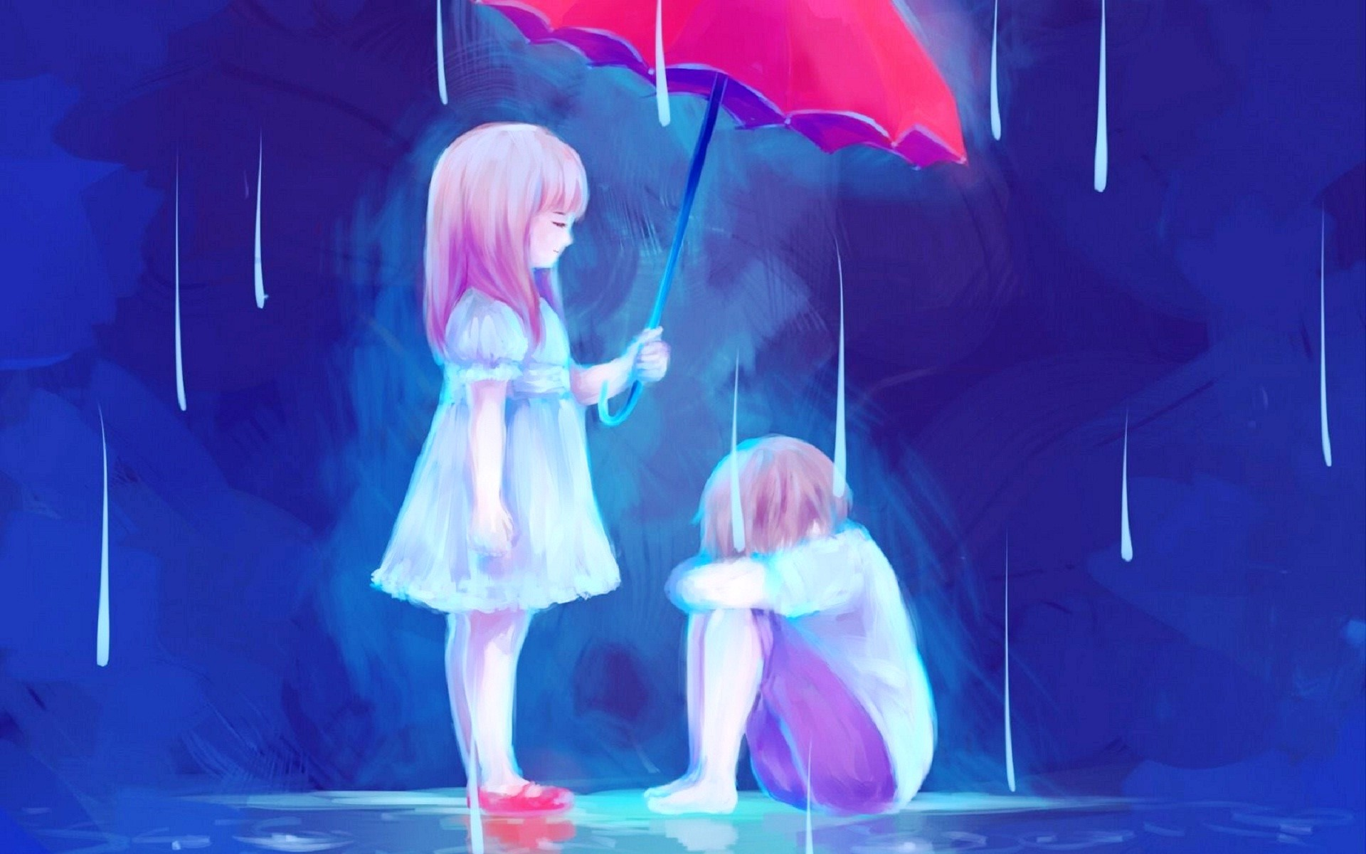 Res: 1920x1200, Performance, Romance, Purple, Painting, Entertainment HD Wallpaper, Anime  Picture, Background and Image