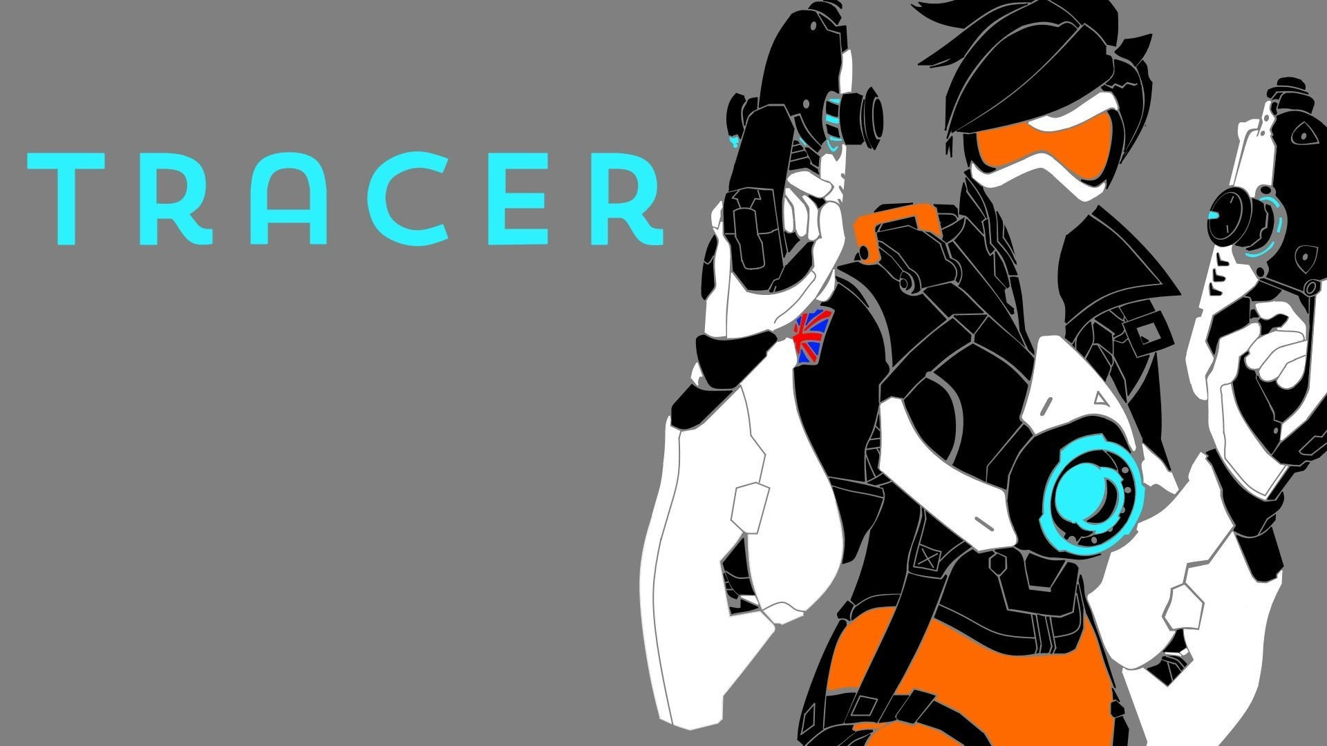 Res: 1920x1080,  General  Overwatch Blizzard Entertainment Tracer  (Overwatch)