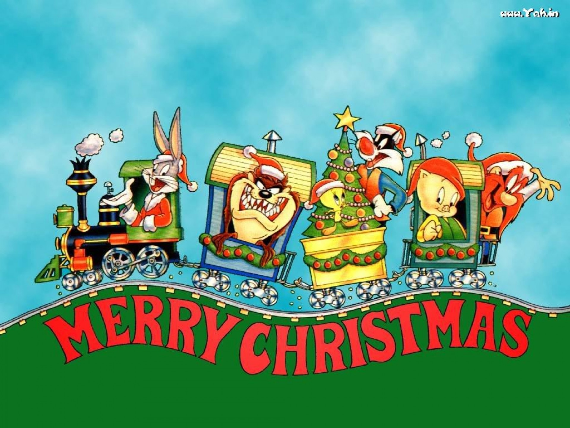 Res: 1920x1440, looney tunes christmas wallpaper Looney tunes christmas hm wallpaper   184435 WallpaperUP