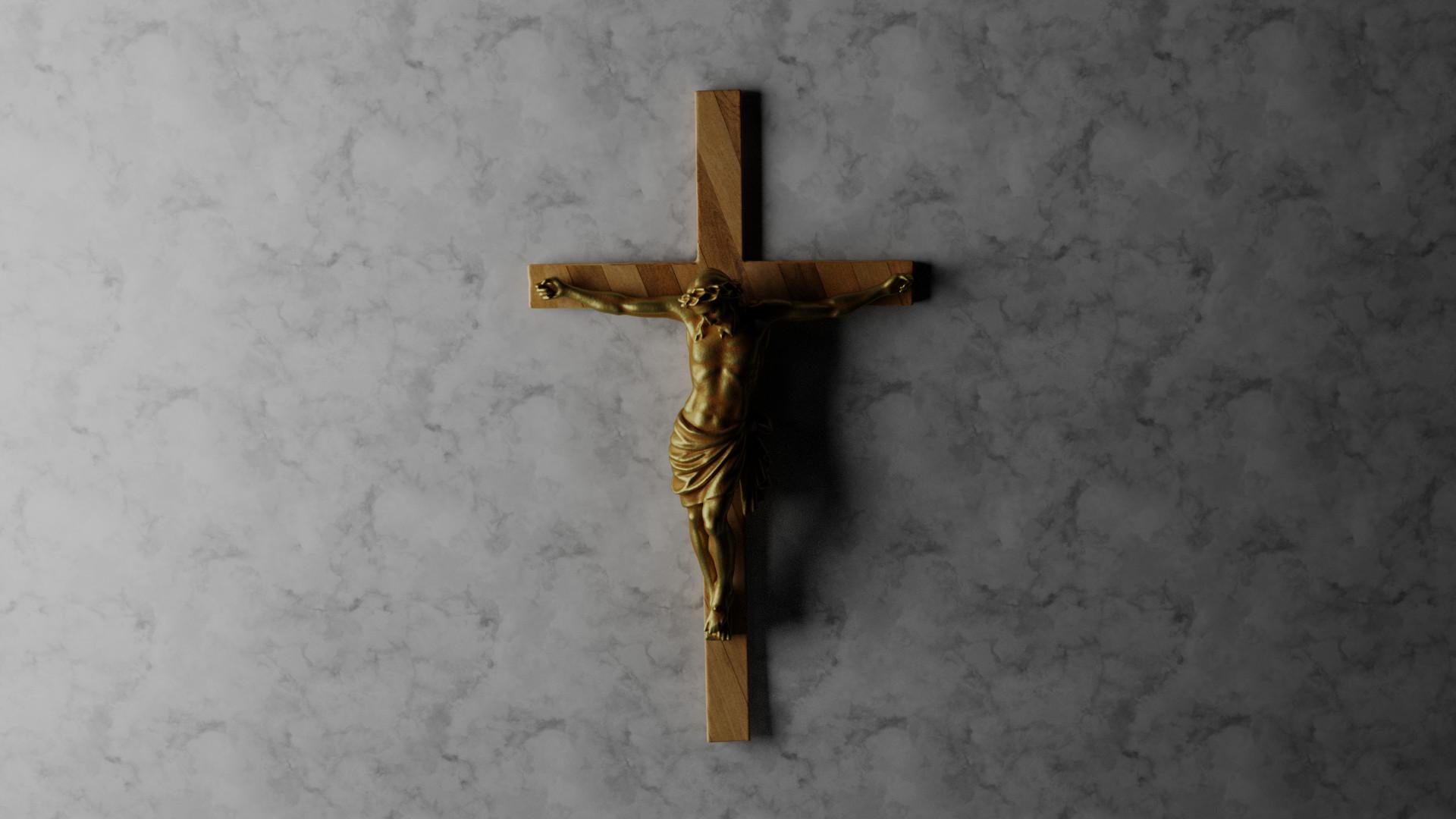 Res: 1920x1080, crucifix wallpaper #221714