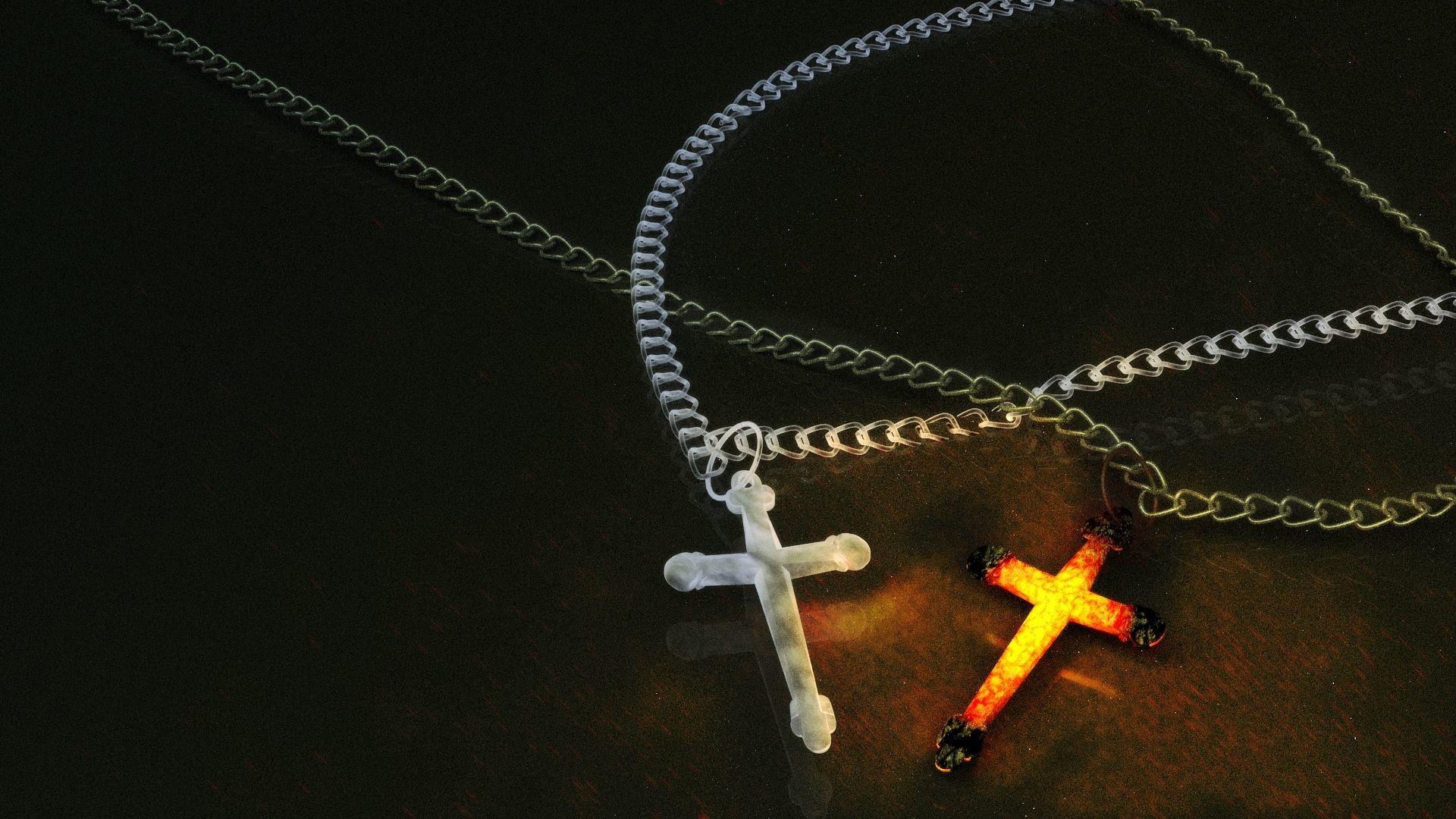 Res: 1920x1080, Crucifix Photo Free Download by Evgeni Bernardini