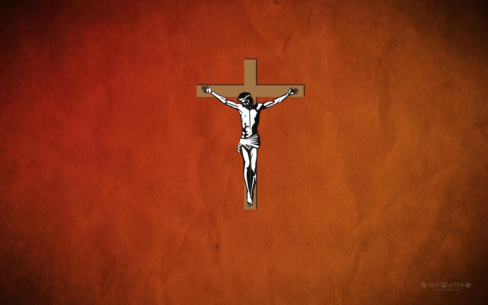 Res: 1920x1200, 1920x1080 Jesus on the cross HD Wallpaper