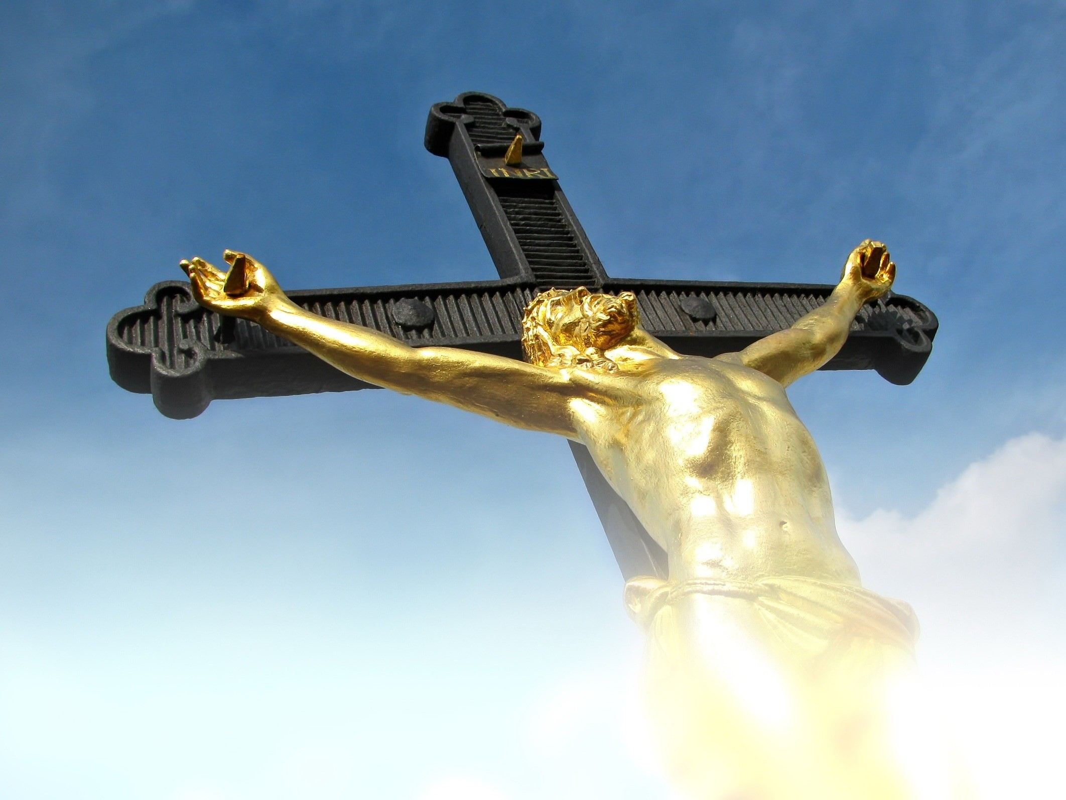 Res: 2124x1593, brown and gold crucifix preview