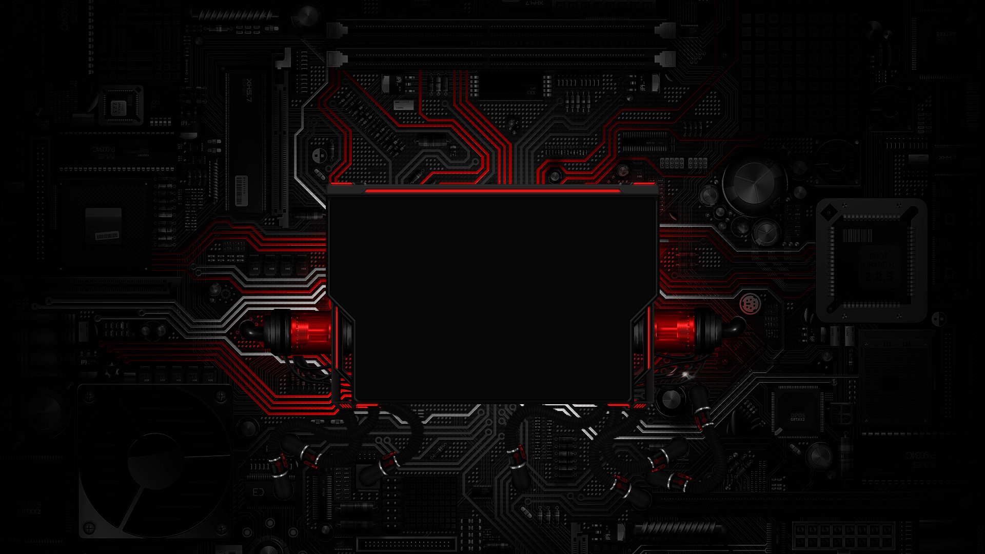 Res: 1920x1080, red-tech-wallpaper_398083.jpg .