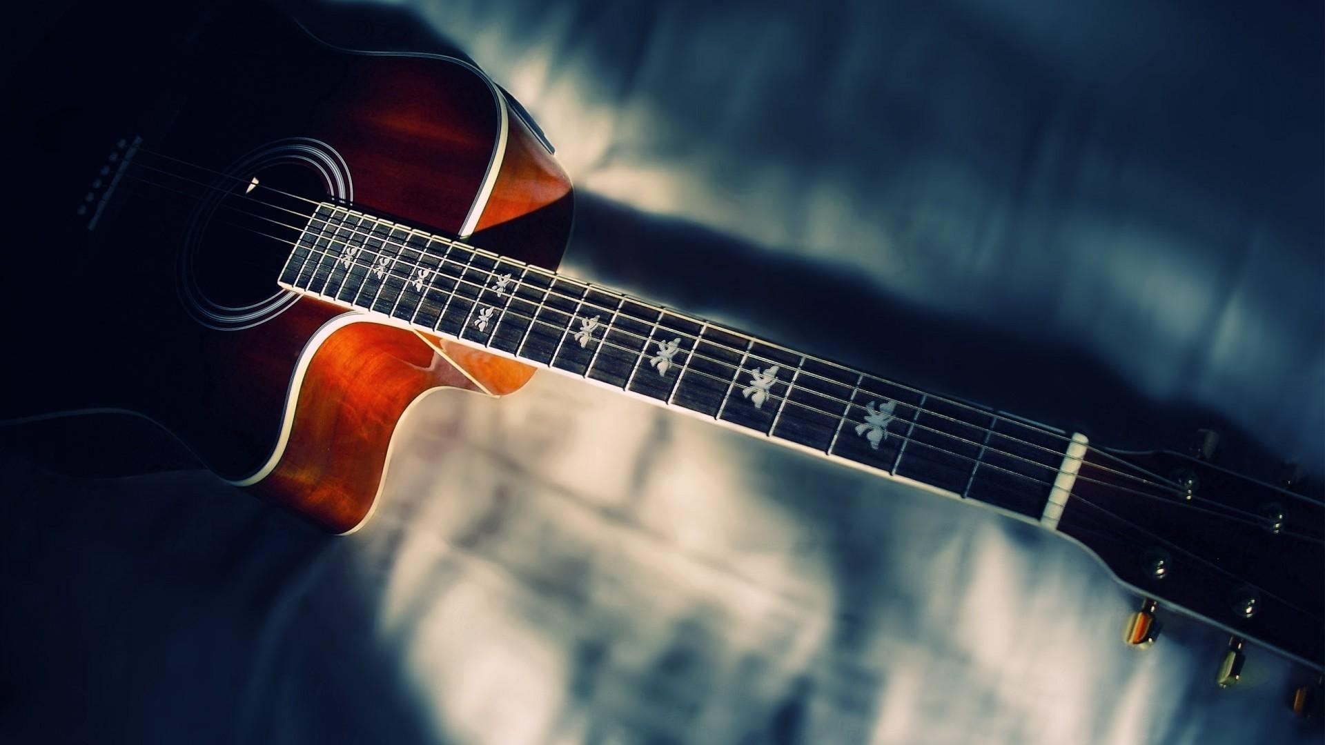 Res: 1920x1080,  Acoustic Guitar wallpaper