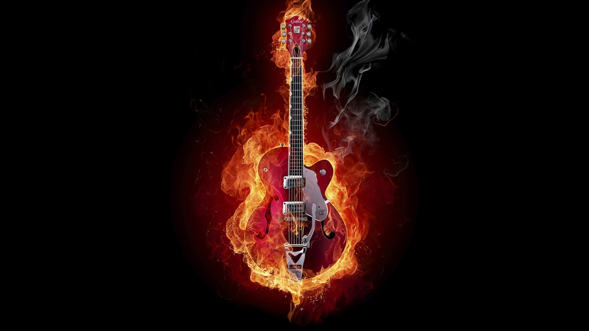 Res: 1920x1080,  1080p Guitar Wallpaper