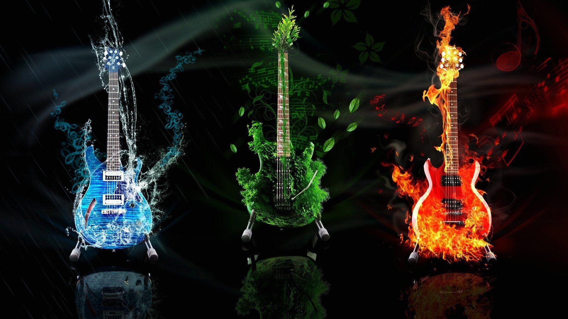 Res: 1920x1080, electric-guitar-wallpaper_99813.jpg .